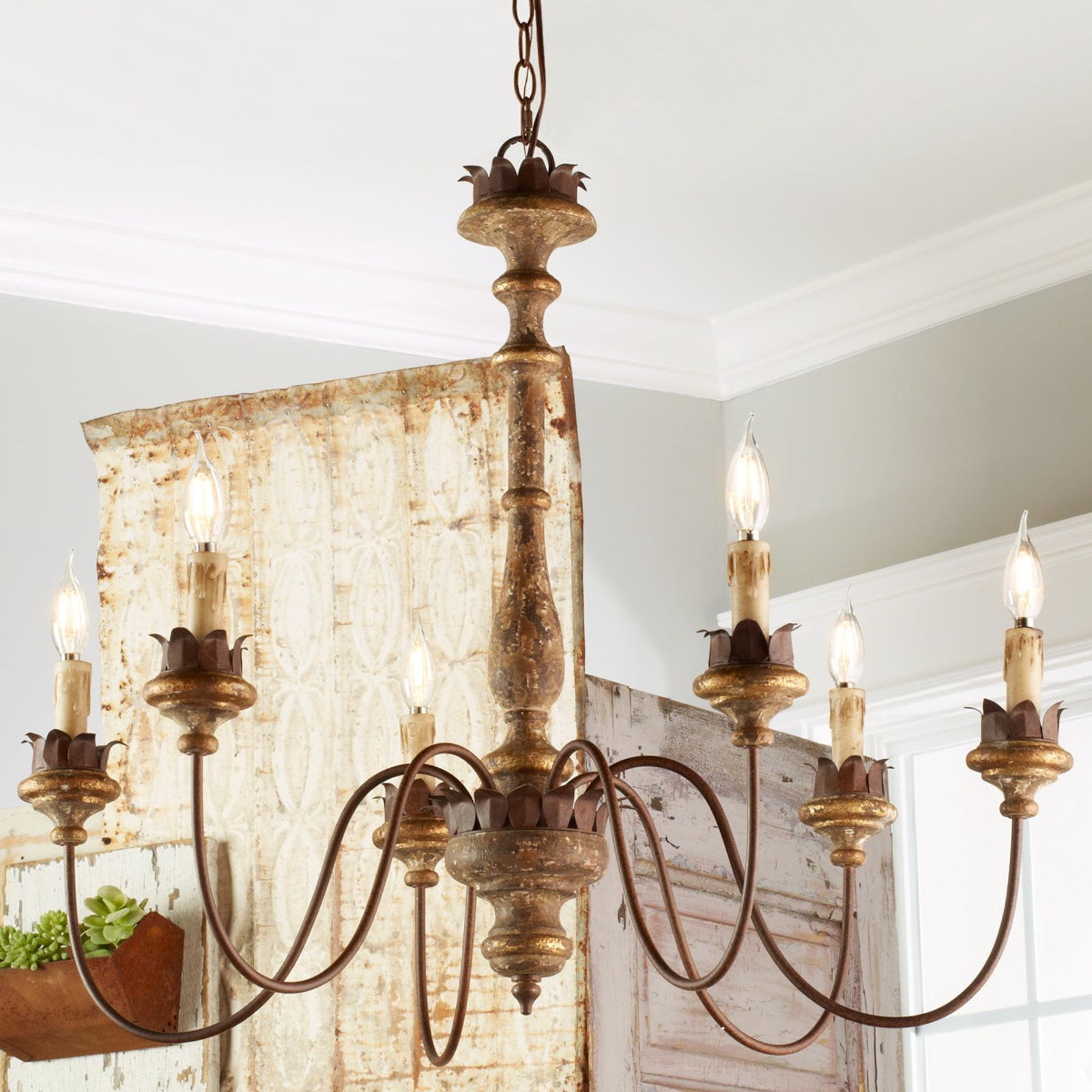 Dinning Rooms In With Regard To Most Popular Bouchette Traditional 6 Light Candle Style Chandeliers (View 8 of 20)