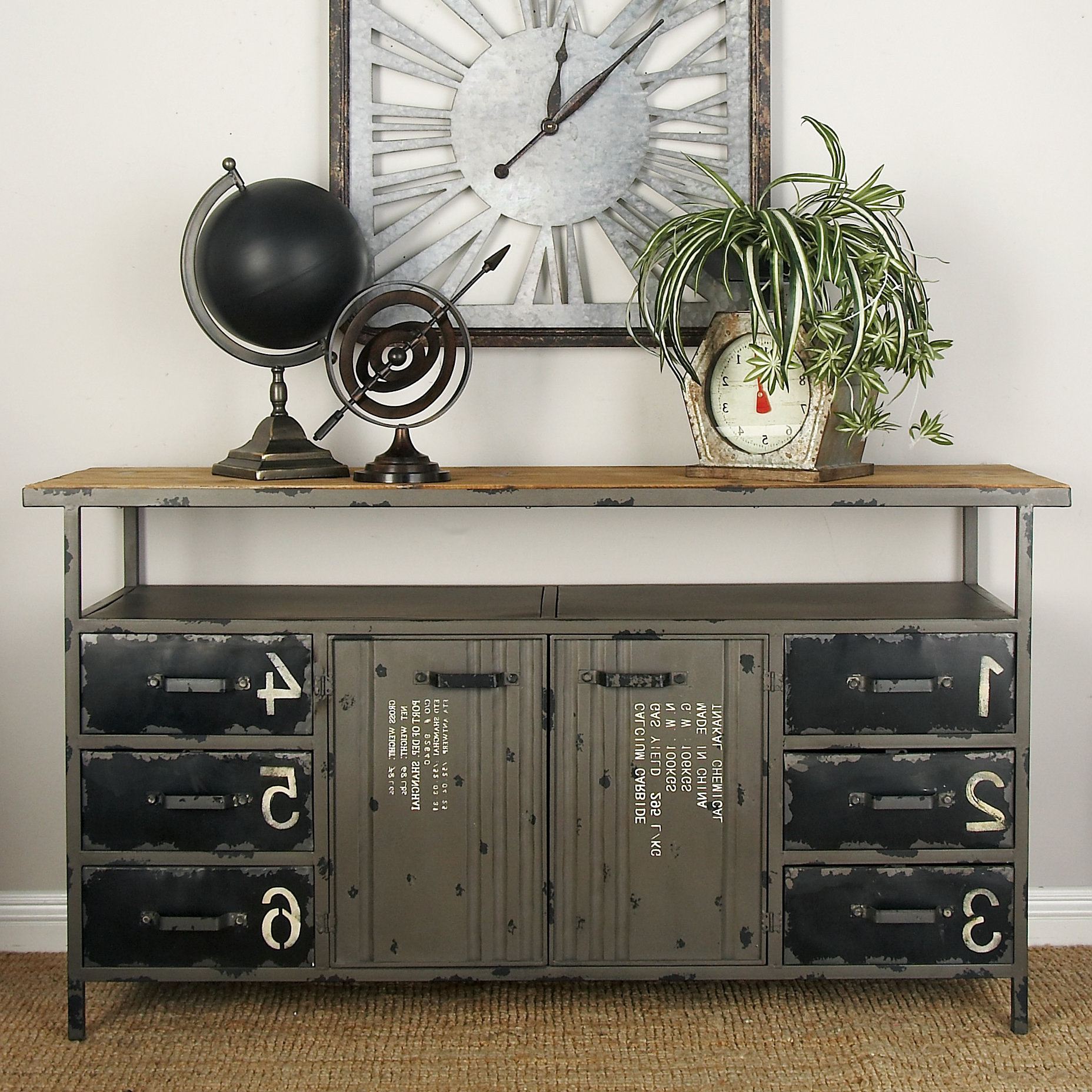 Distressed Finish Sideboards & Buffets You'll Love In 2019 Throughout Current Massillon Sideboards (Gallery 4 of 20)