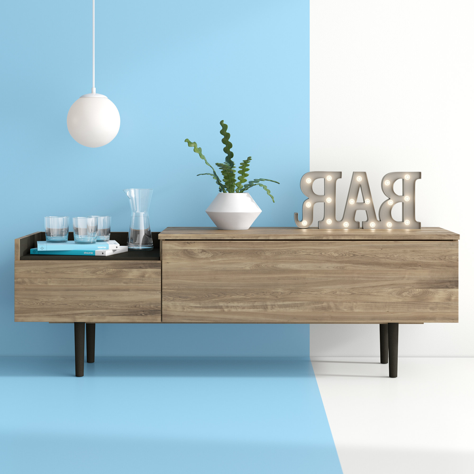 Dovray Sideboard Within Trendy Dovray Sideboards (View 5 of 20)