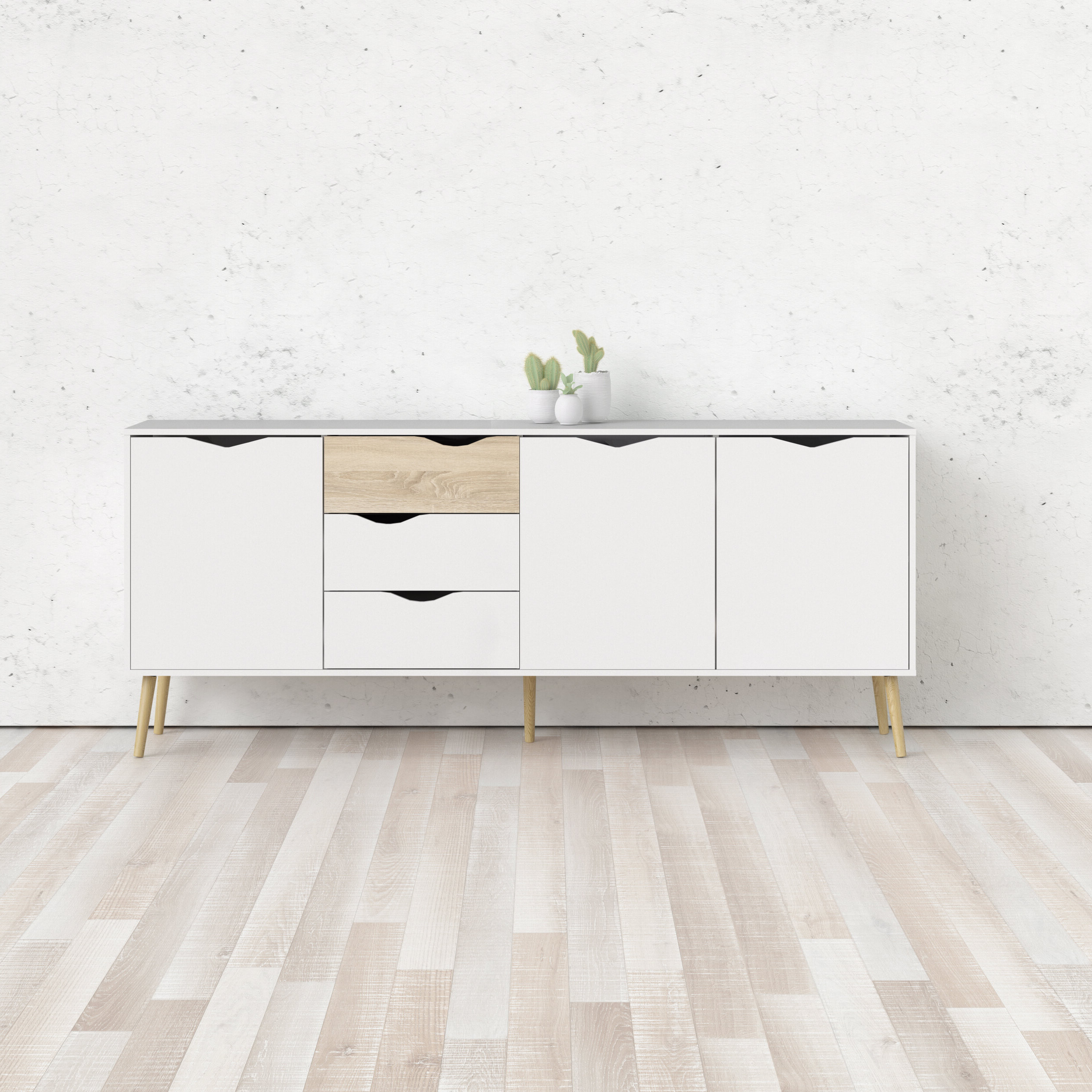 Dovray Sideboards Within 2020 Dowler Buffet Table (View 8 of 20)