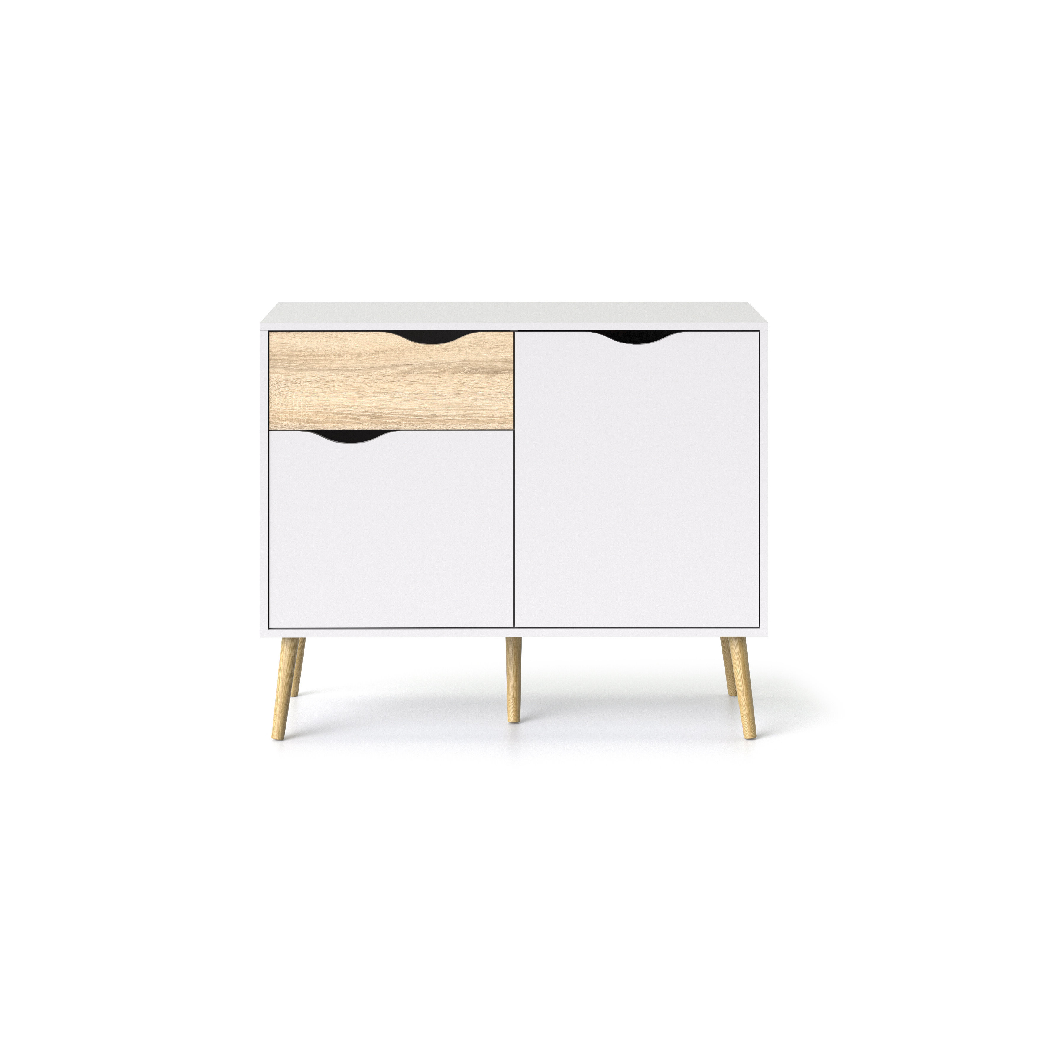Dowler 3 Drawers Accent Chest For Well Known Dowler 2 Drawer Sideboards (View 5 of 20)