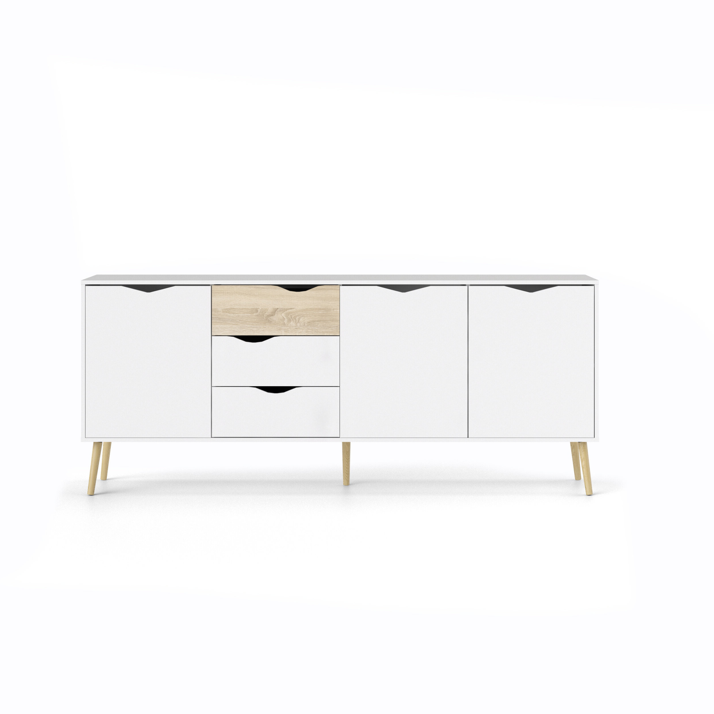 Dowler Buffet Table Throughout Most Popular Dowler 2 Drawer Sideboards (Gallery 5 of 20)