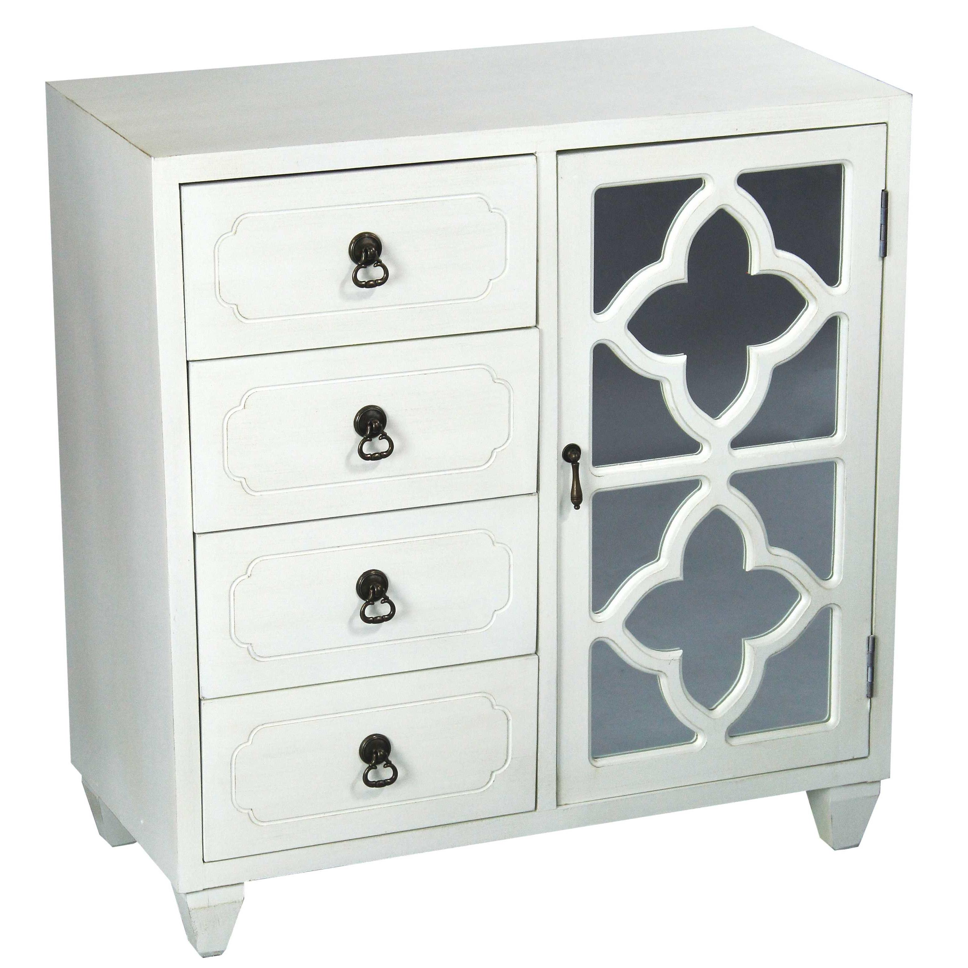 Drummond 4 Drawer Sideboards Intended For Trendy Kirtin 1 Door 4 Drawer Server (Gallery 7 of 20)