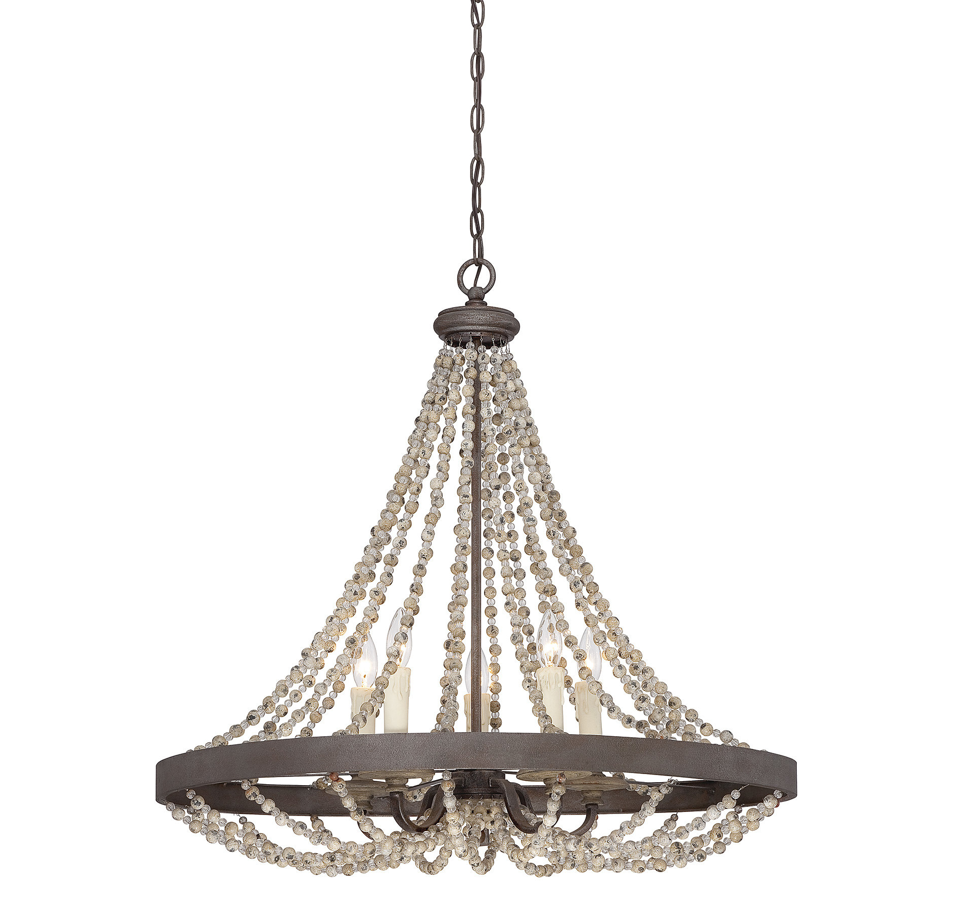 Duron 5 Light Empire Chandeliers Inside 2020 Ladonna 5 Light Novelty Chandelier (Gallery 6 of 20)