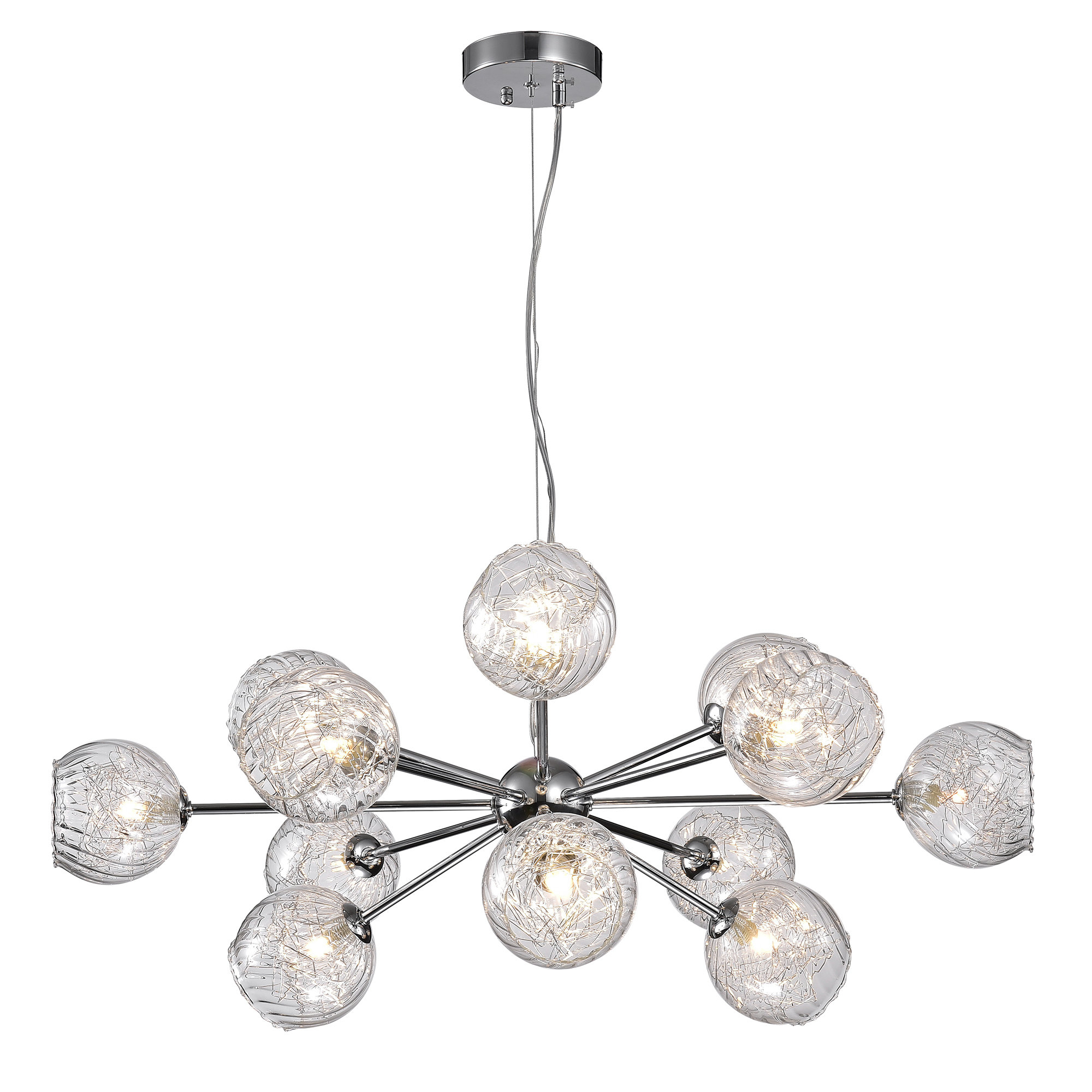 Earleville 12 Light Sputnik Chandelier Throughout Fashionable Asher 12 Light Sputnik Chandeliers (View 10 of 20)