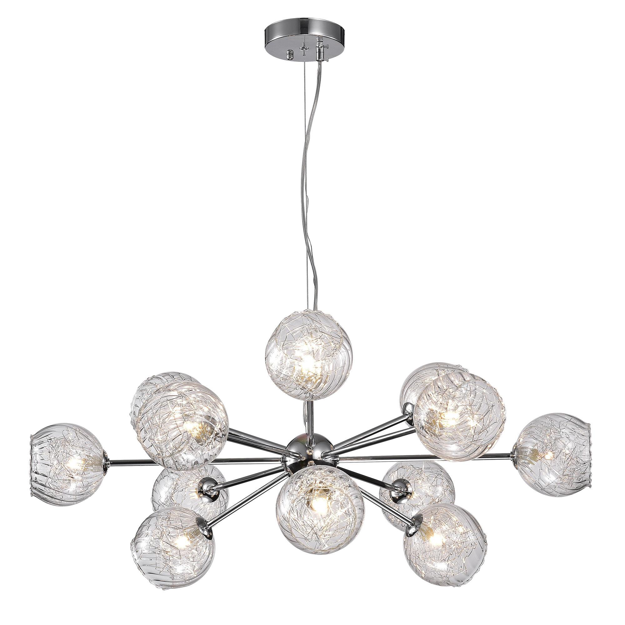Earleville 12 Light Sputnik Chandelier Throughout Fashionable Asher 12 Light Sputnik Chandeliers (Gallery 7 of 20)