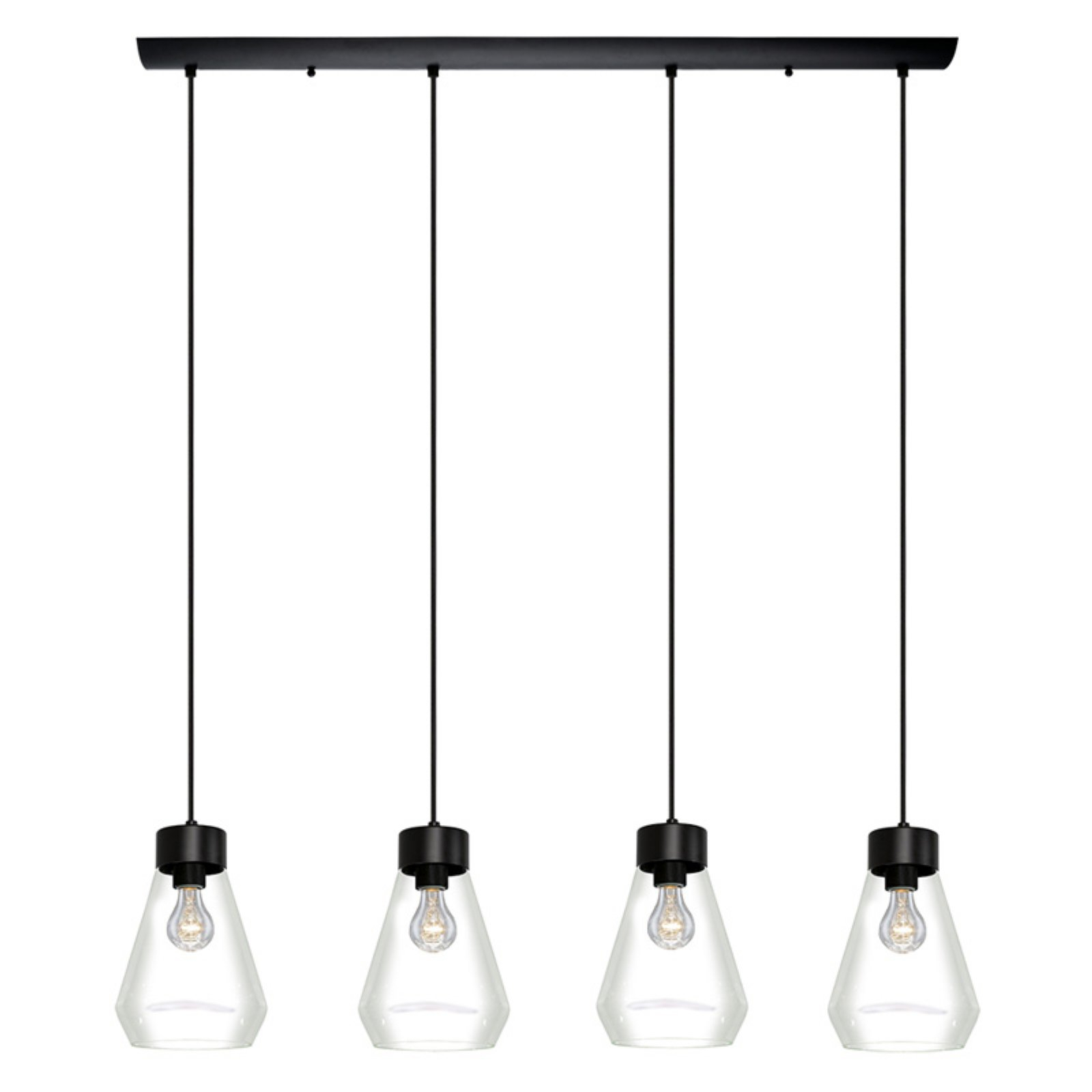 Eglo Usa Montey 202126A Multi Light Pendant Light (Gallery 17 of 20)