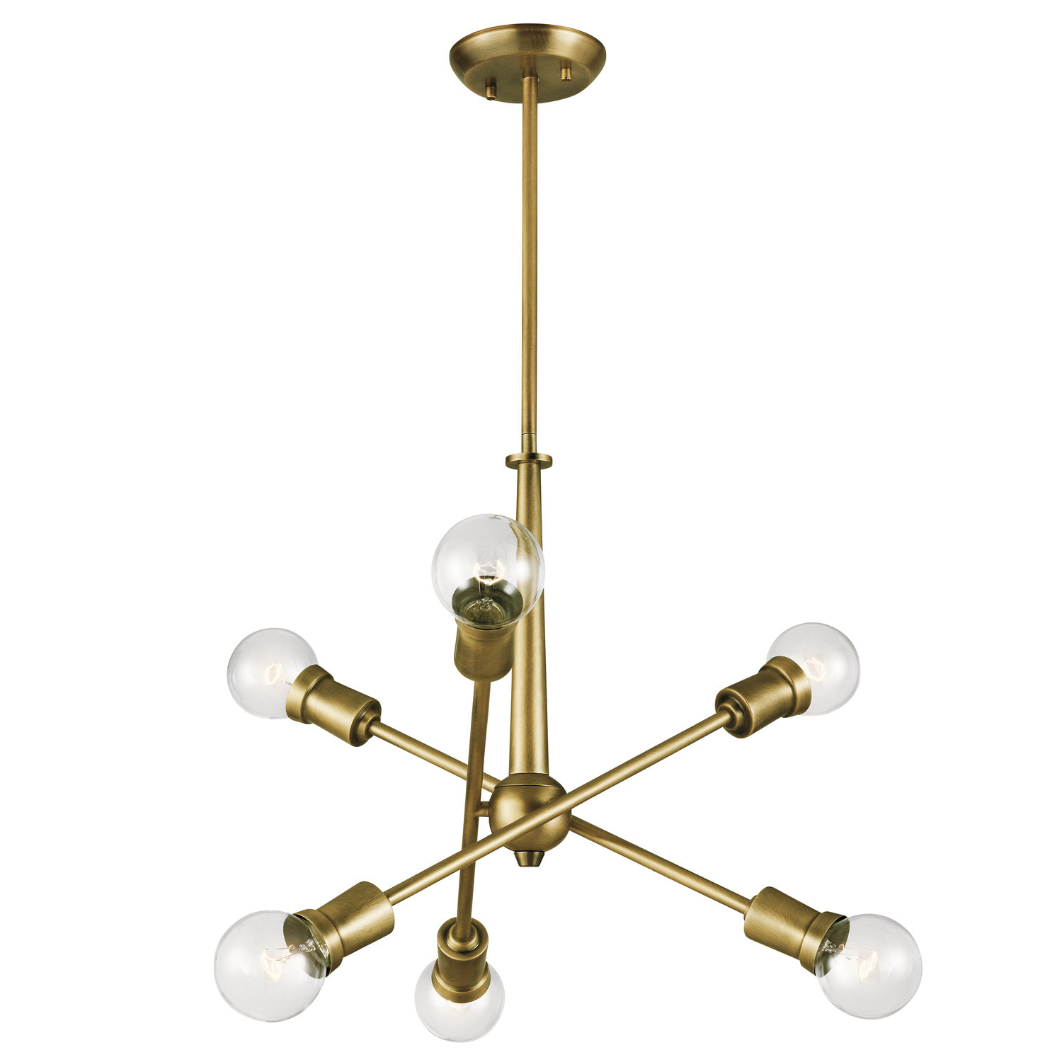 Eladia 6 Light Sputnik Chandeliers Throughout Most Current Tatum 6 Light Chandelier (View 9 of 20)