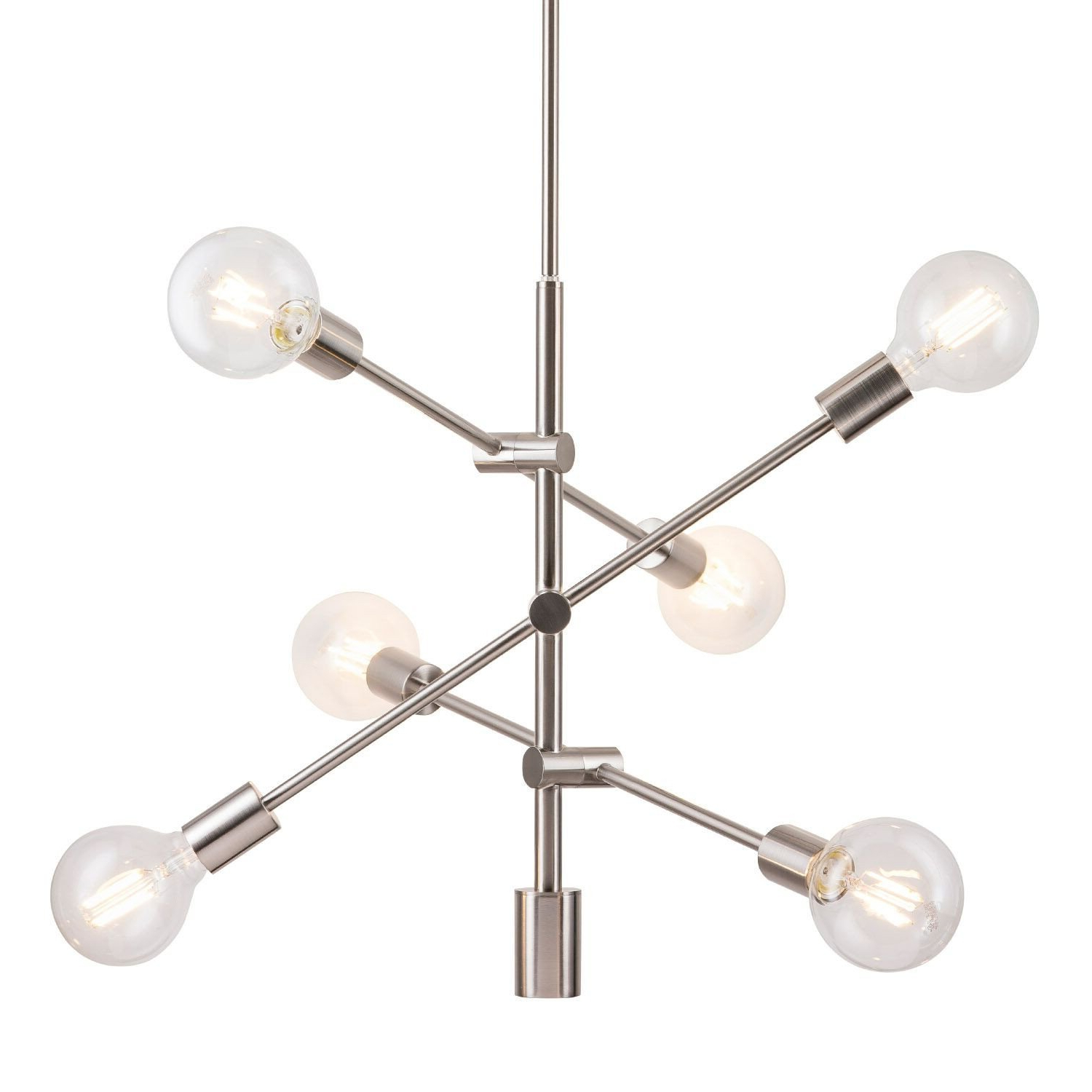 Featured Photo of Eladia 6 Light Sputnik Chandeliers