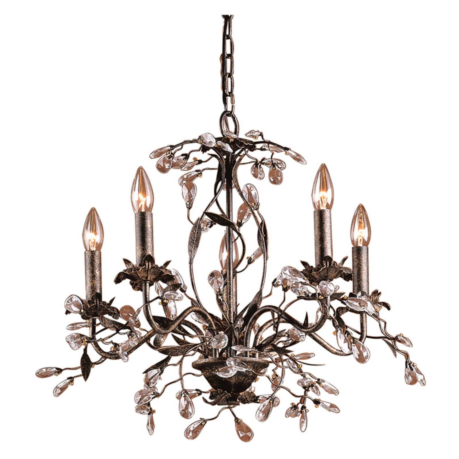 Elk Lighting Circeo Chandelier 8053/5 – 21W In (View 5 of 20)
