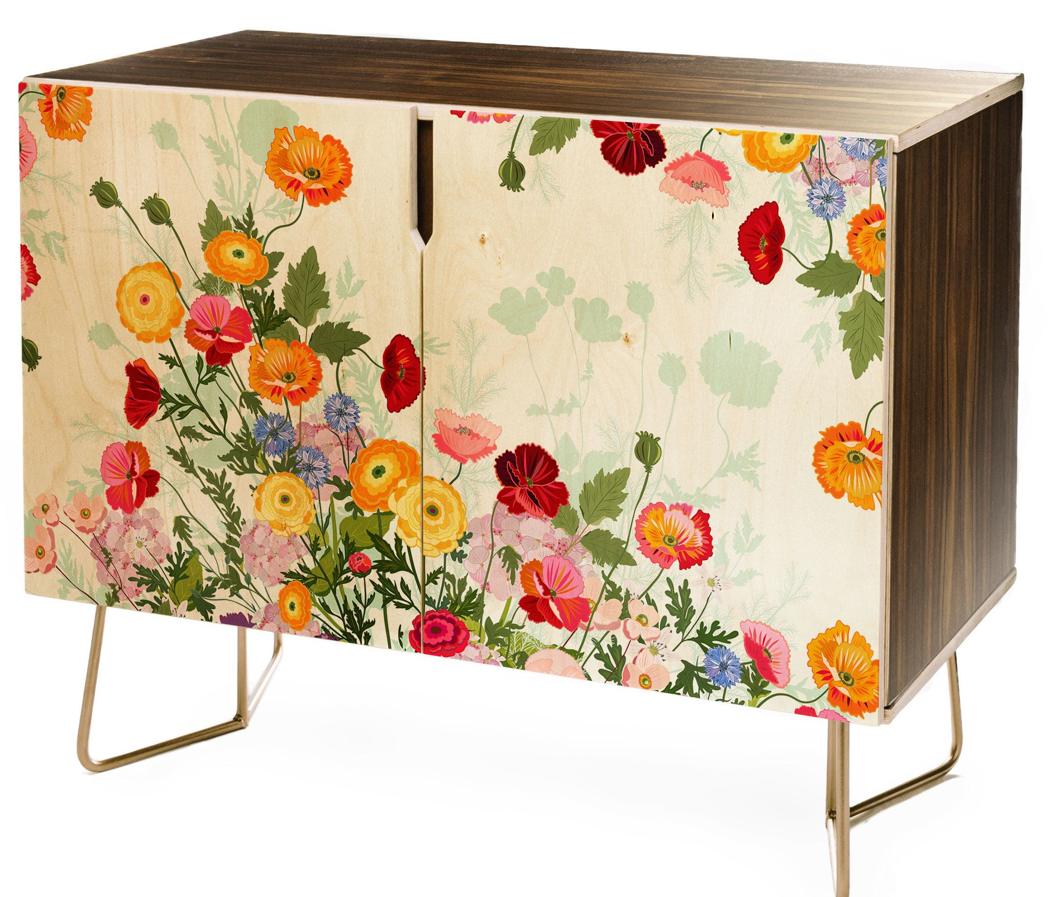 Emmaline Sideboards Within Preferred East Urban Home Iveta Abolina Emmaline Credenza In (View 3 of 20)