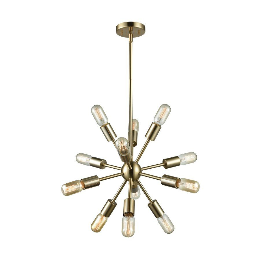 Entry Light Pertaining To 2019 Corona 12 Light Sputnik Chandeliers (View 9 of 20)