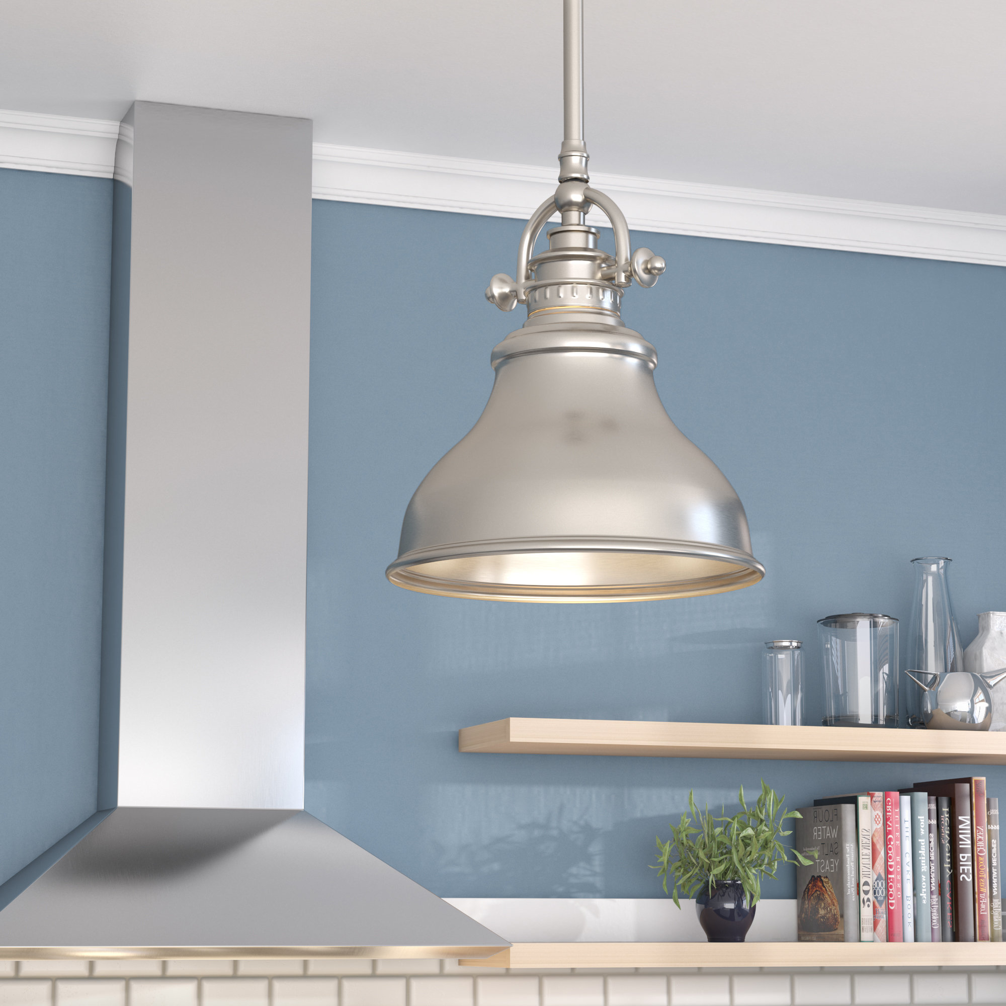 Epub Descargar Mueller 1 Light Single Dome Pendant In Current Mueller 1 Light Single Dome Pendants (Gallery 6 of 20)