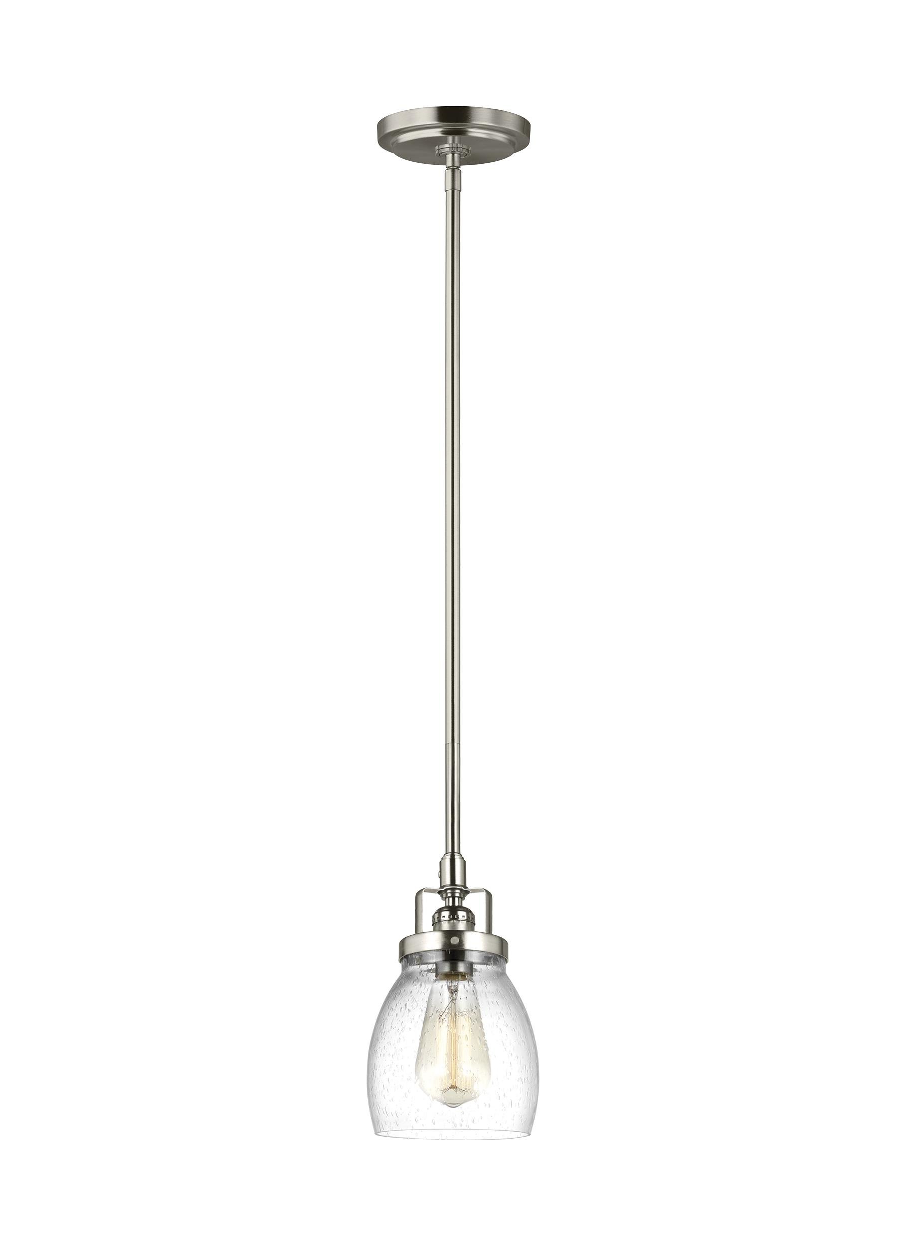 Erico 1 Light Single Bell Pendants With Most Recent Houon 1 Light Cone Bell Pendant (Gallery 14 of 20)