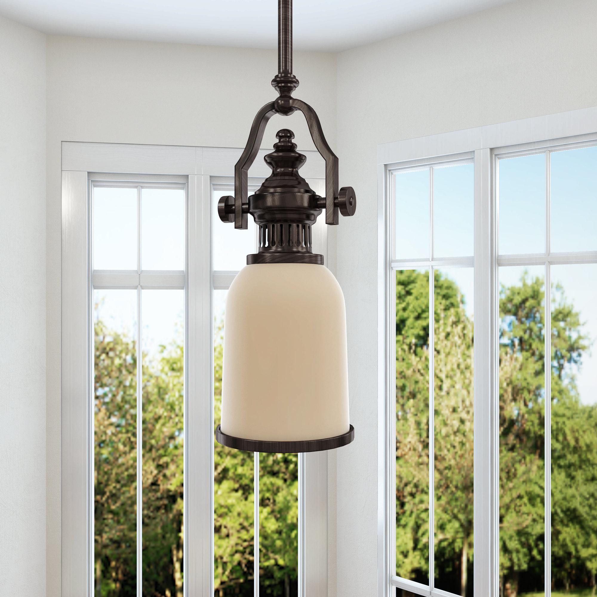 Erico 1 Light Single Bell Pendants With Regard To Recent Susan 1 Light Single Bell Pendant (View 8 of 20)
