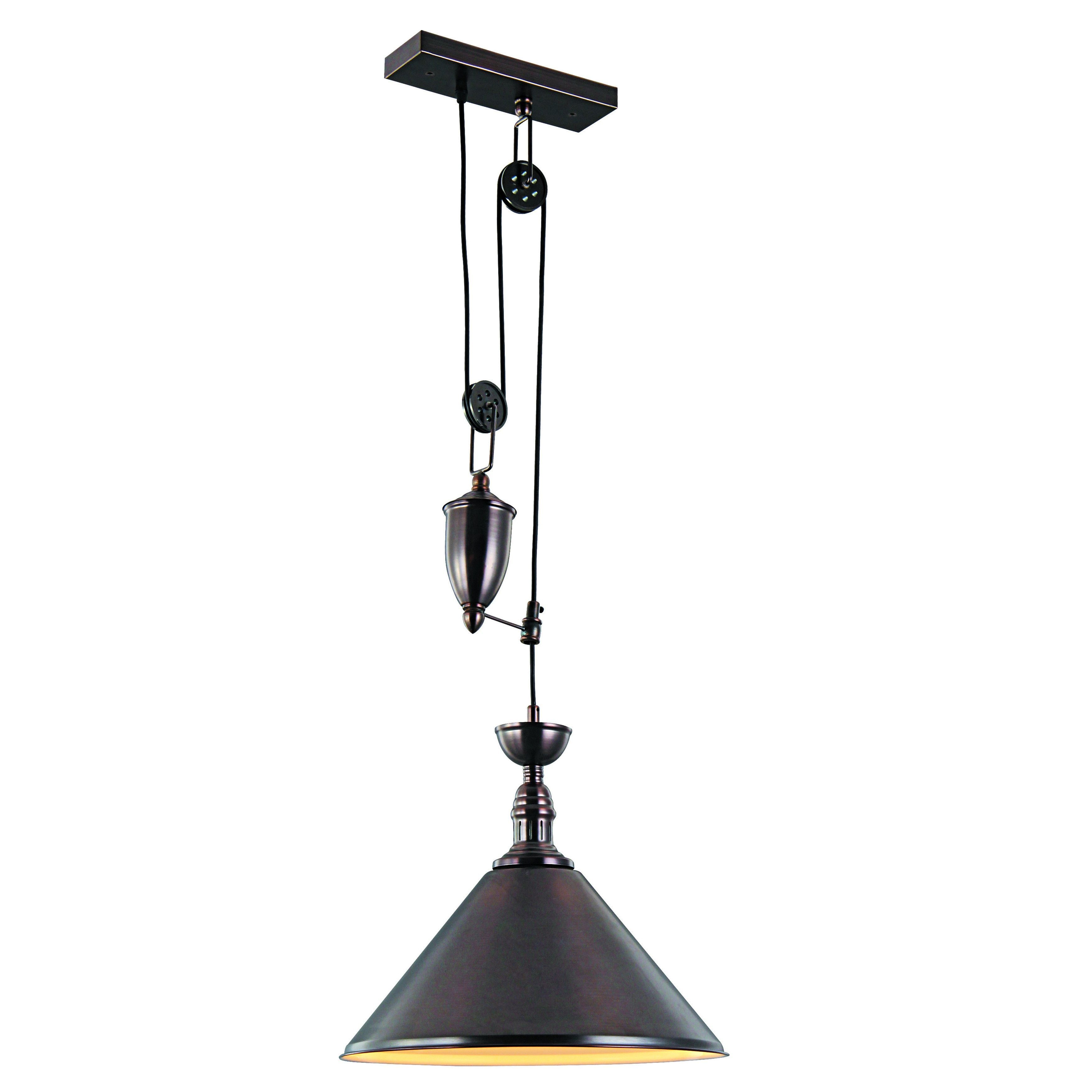 Euclid 2 Light Kitchen Island Linear Pendants For Best And Newest Elegant Lighting Industrial Collection Pendant Lamp With (View 9 of 20)