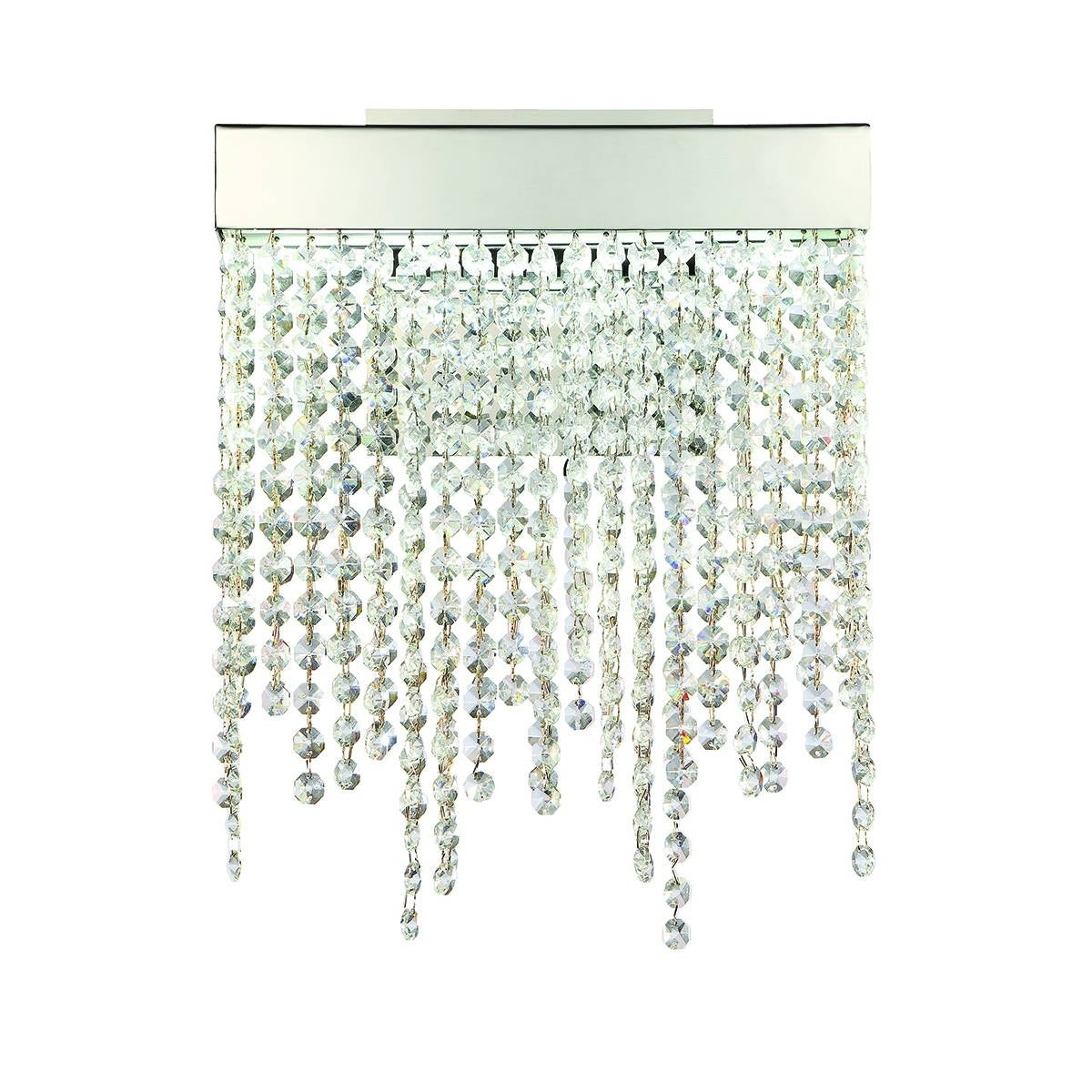 """Eurofase Rossi 1 Light Led Wall Sconce, Chrome Finish – 29072 019 – 12""""  High X  (View 10 of 20)"""