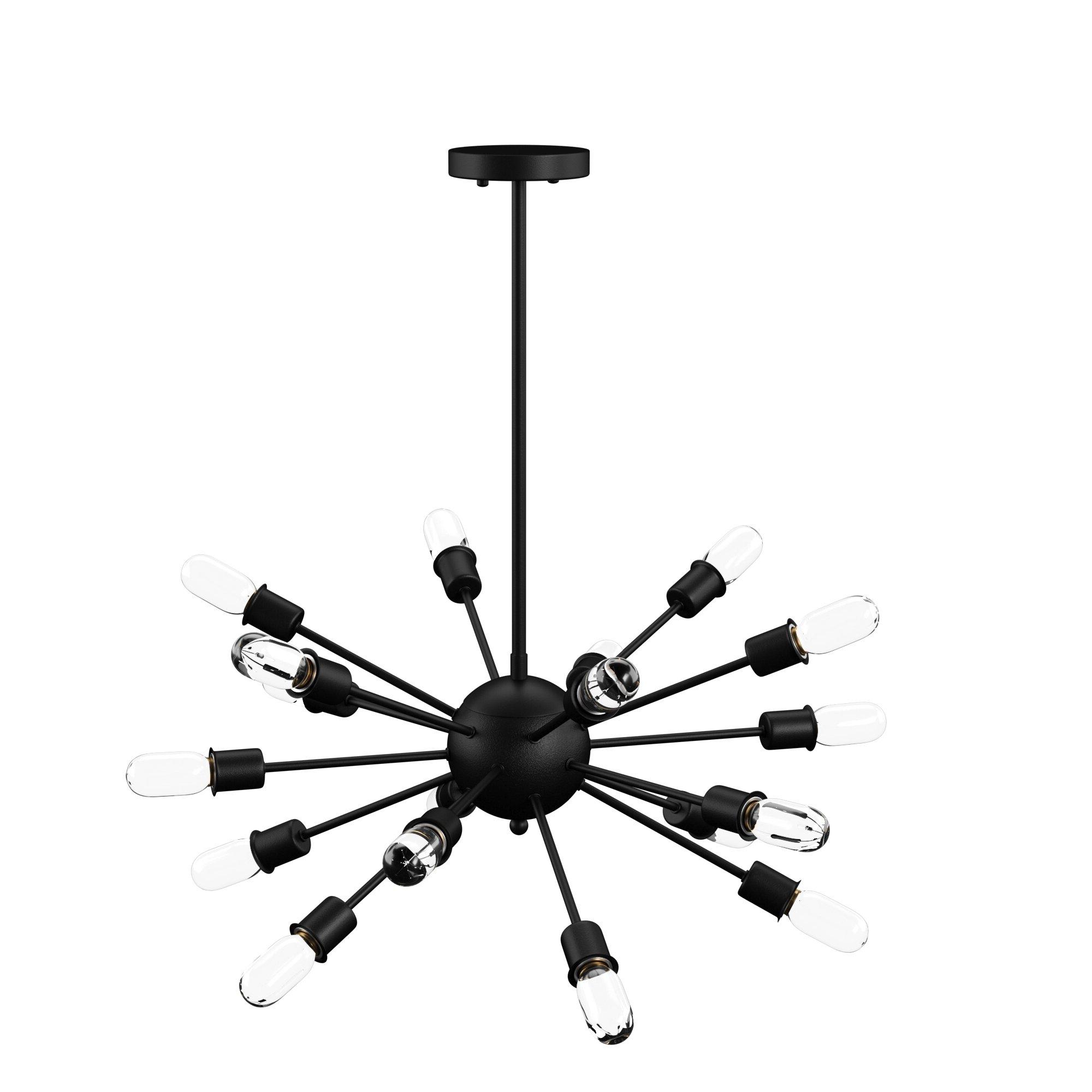 Everett 10 Light Sputnik Chandeliers For Newest Defreitas 18 Light Sputnik Chandelier (View 8 of 20)