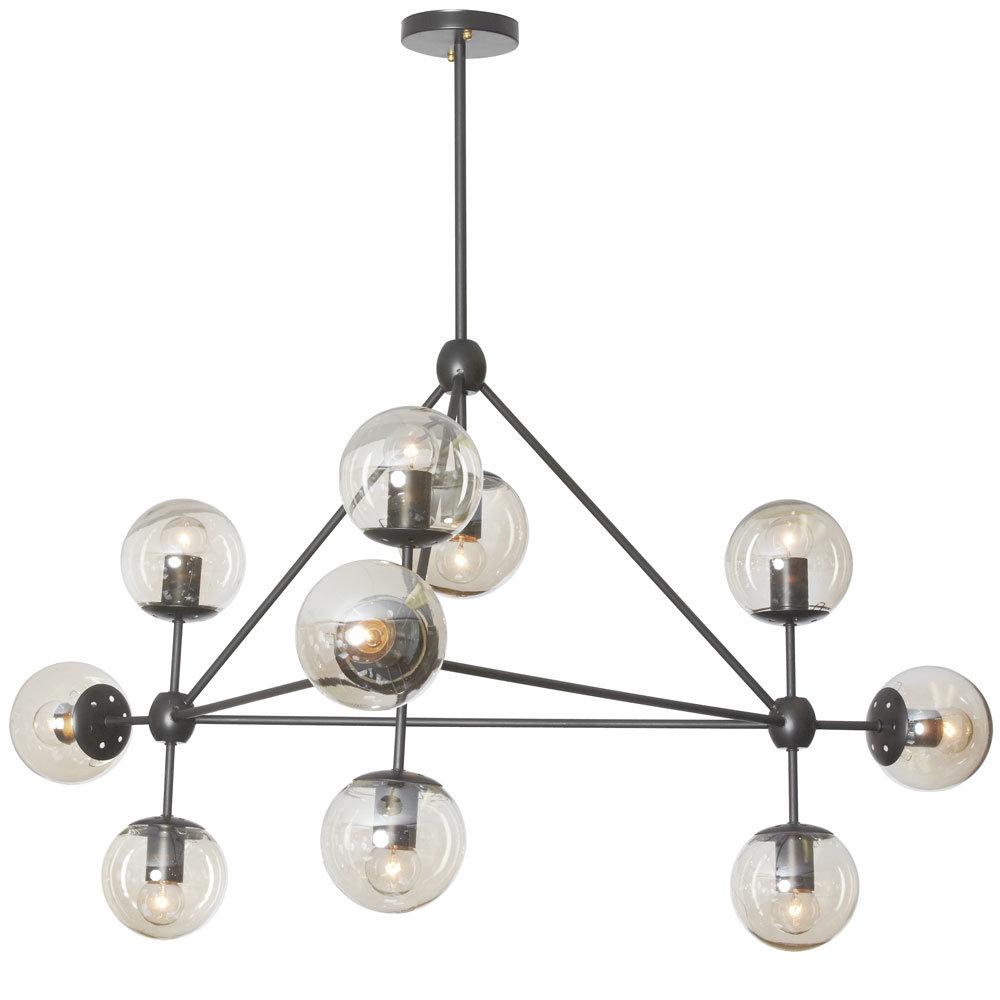 Everett 10 Light Sputnik Chandeliers Pertaining To Famous Corrigan Studio Frederick 10 Light Sputnik Chandelier (View 10 of 20)