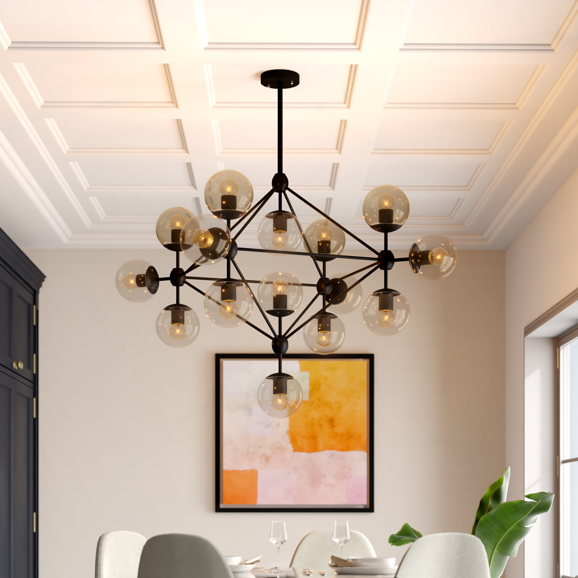Everett 10 Light Sputnik Chandeliers With Most Up To Date Dortch 15 Light Sputnik Chandelier (Gallery 16 of 20)