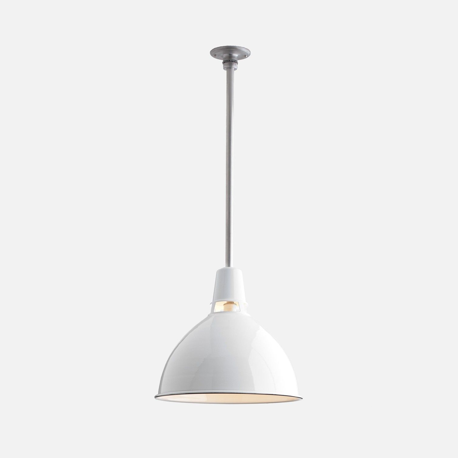 Factory Throughout Recent Conover 1 Light Dome Pendants (View 9 of 20)