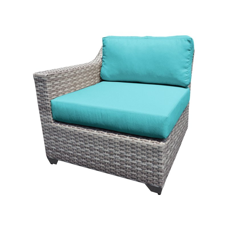 Falmouth Loveseats With Cushions Regarding Most Recently Released Falmouth Patio Loveseat With Cushions (View 9 of 20)