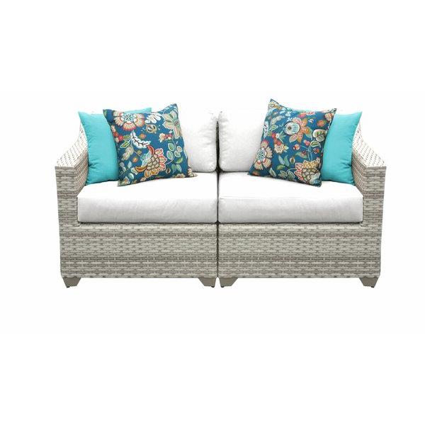 Falmouth Patio Loveseat With Cushions With Regard To Most Popular Falmouth Loveseats With Cushions (View 11 of 20)