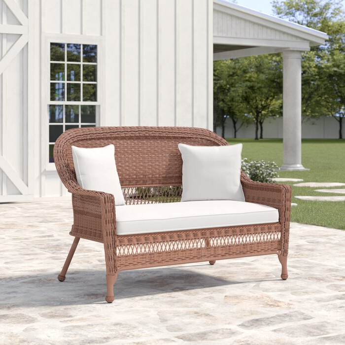 Famous Alburg Loveseat With Cushions Throughout Alburg Loveseats With Cushions (View 11 of 20)