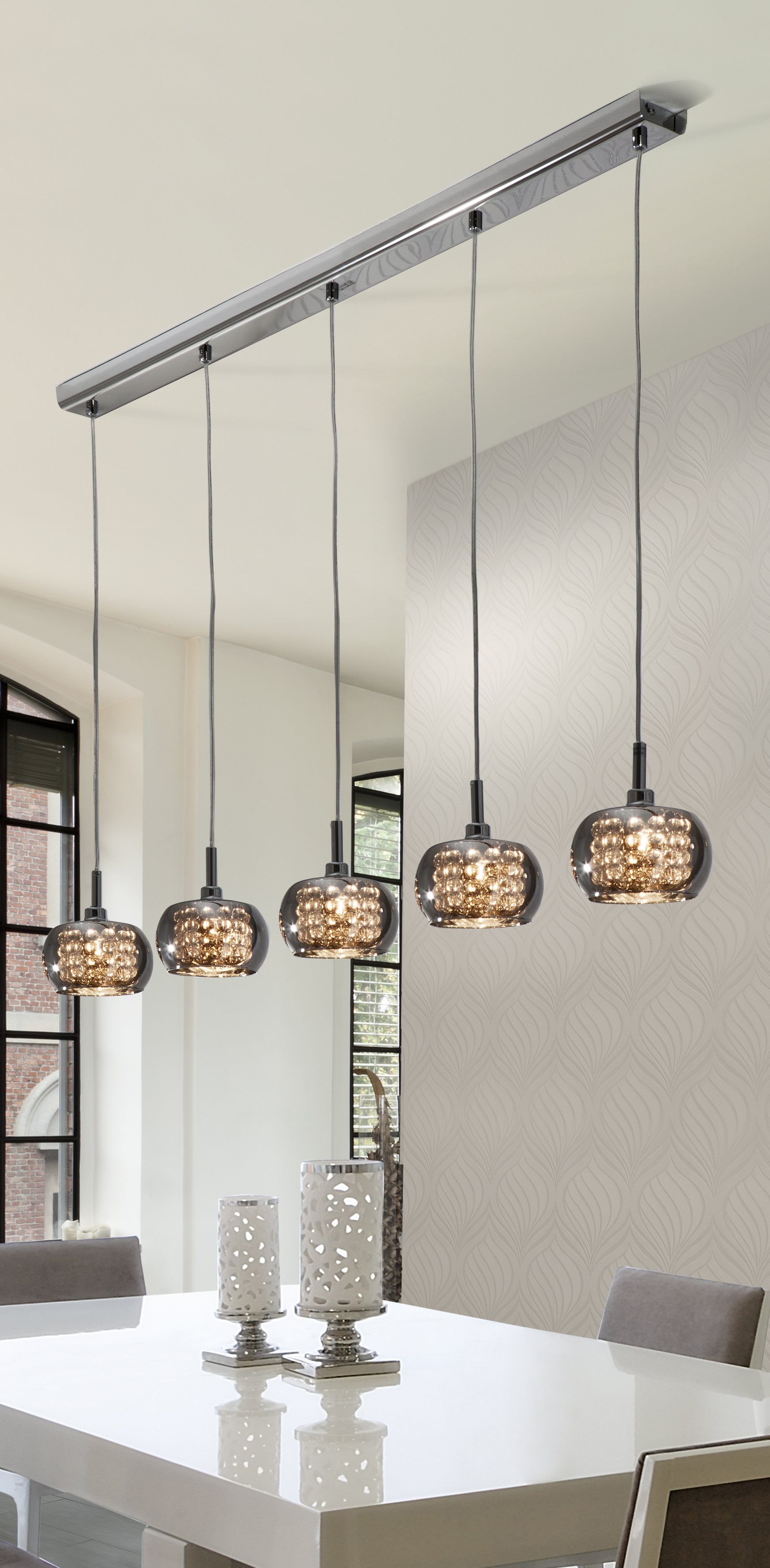 Famous Arian 5 Light Kitchen Island Pendant (Gallery 9 of 20)