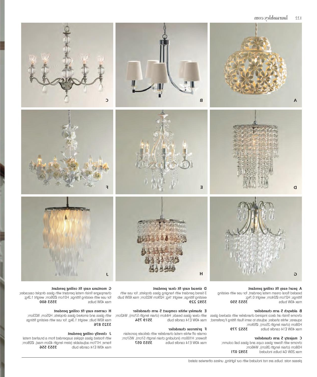 Famous Aw13 Kataloglaura Ashley Sweden – Issuu For Sinead 4 Light Chandeliers (View 14 of 20)