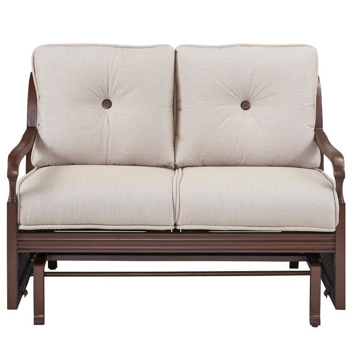 Famous Bade Loveseat With Cushions Within Calvin Patio Loveseats With Cushions (View 11 of 20)