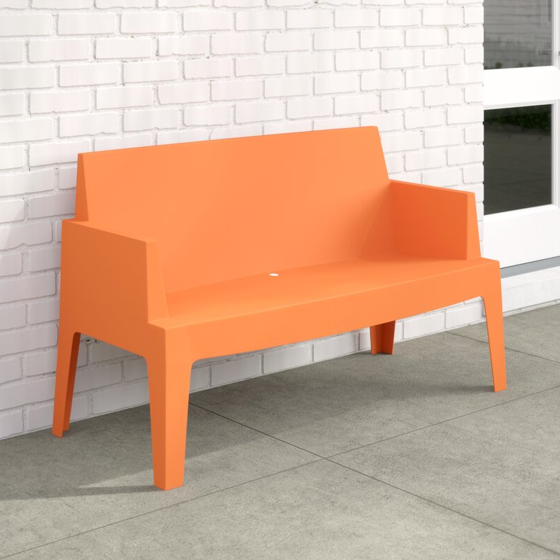 Famous Bence Plastic Outdoor Garden Benches Throughout Bence Plastic Outdoor Garden Bench (Gallery 1 of 20)