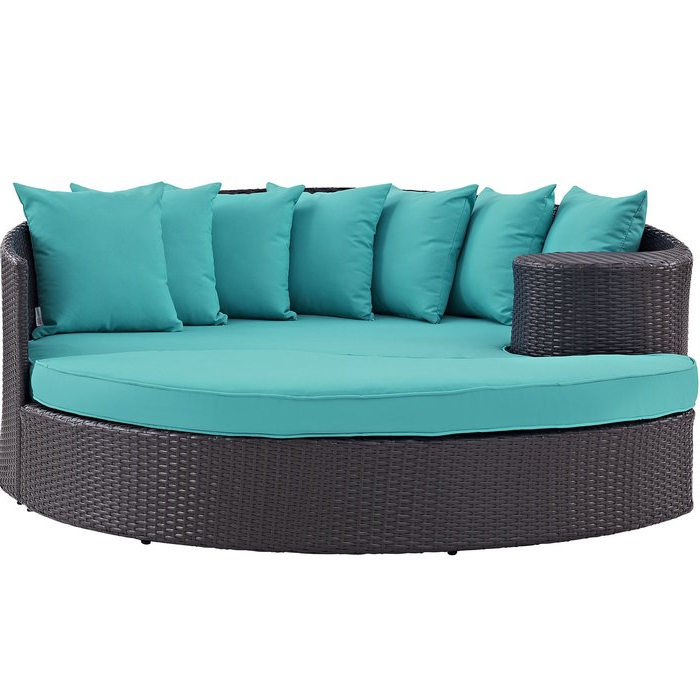 Famous Brentwood Patio Daybeds With Cushions With Brentwood Patio Daybed With Cushions (Gallery 6 of 20)