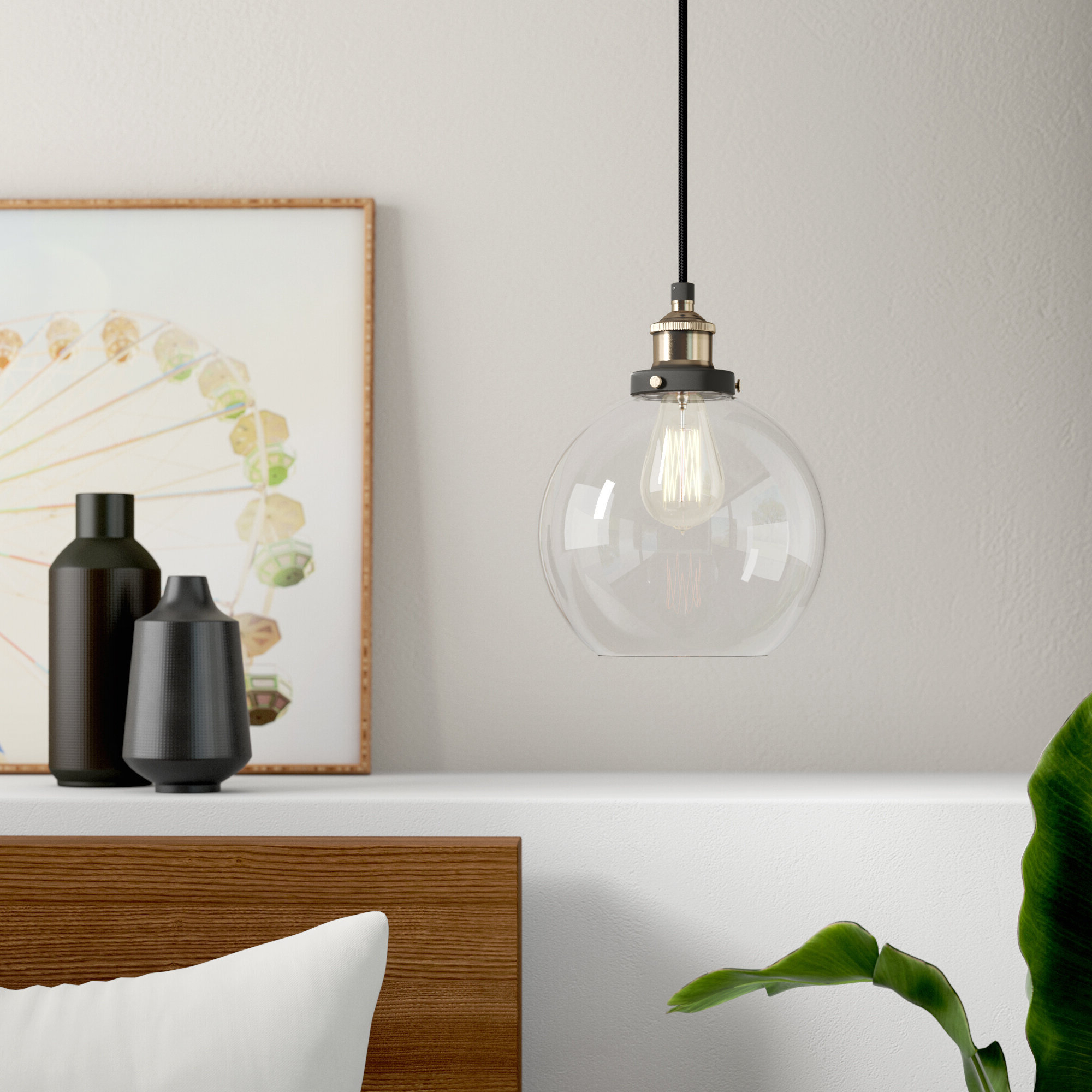 Famous Bundy 1 Light Single Globe Pendant With Gehry 1 Light Single Globe Pendants (View 4 of 20)