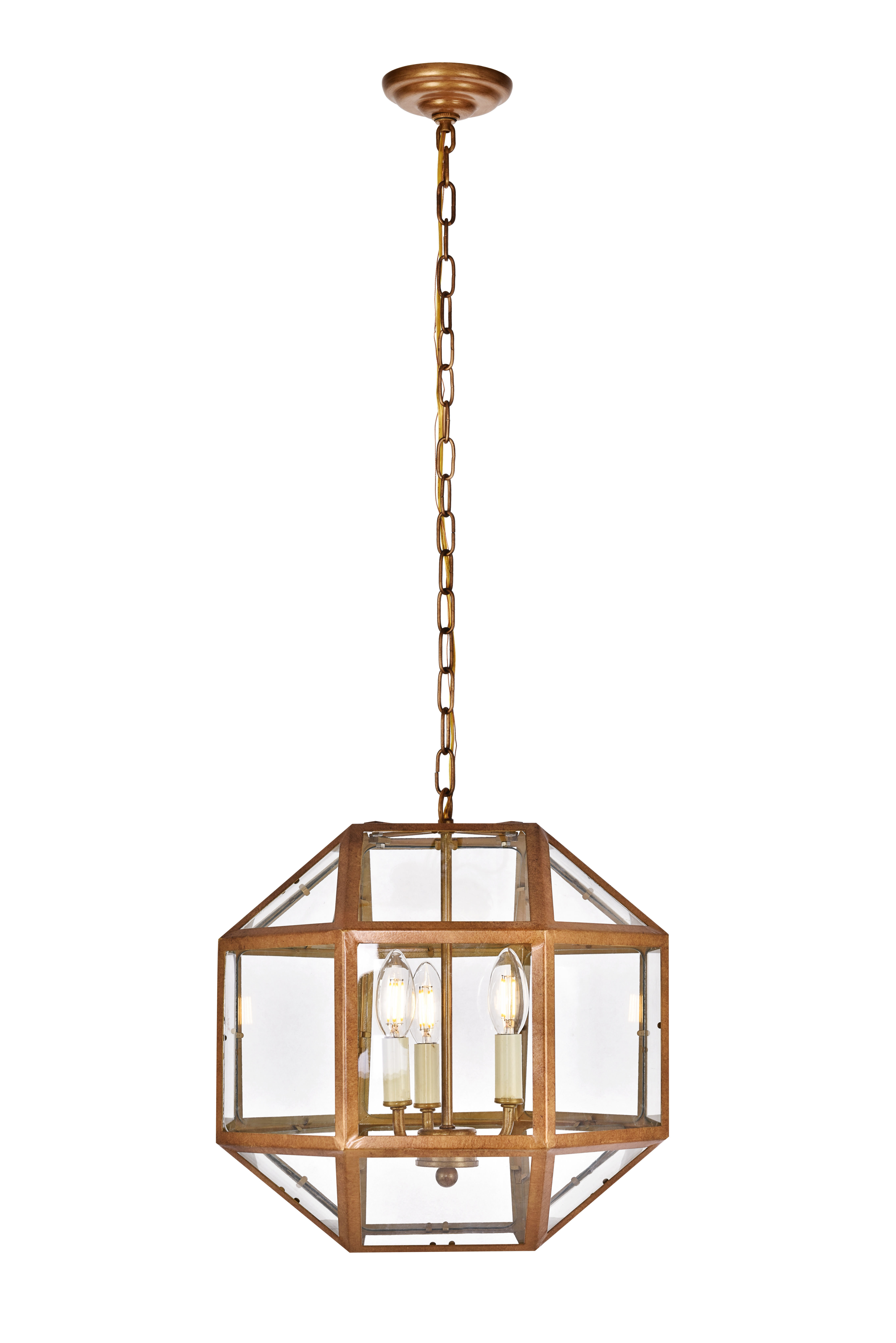 Famous Burkeville 3 Light Geometric Chandelier Within Shipststour 3 Light Globe Chandeliers (View 9 of 20)