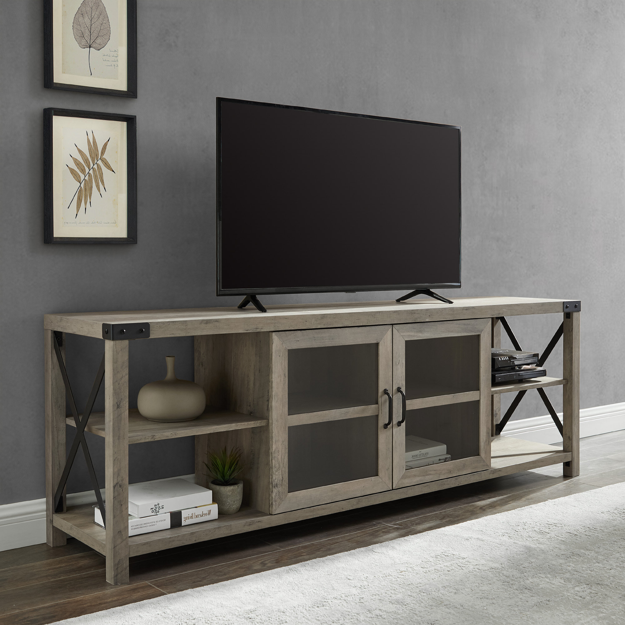 """Famous Colefax Vintage Tv Stands For Tvs Up To 78"""" With Regard To Buffet Tv Stand (View 14 of 20)"""
