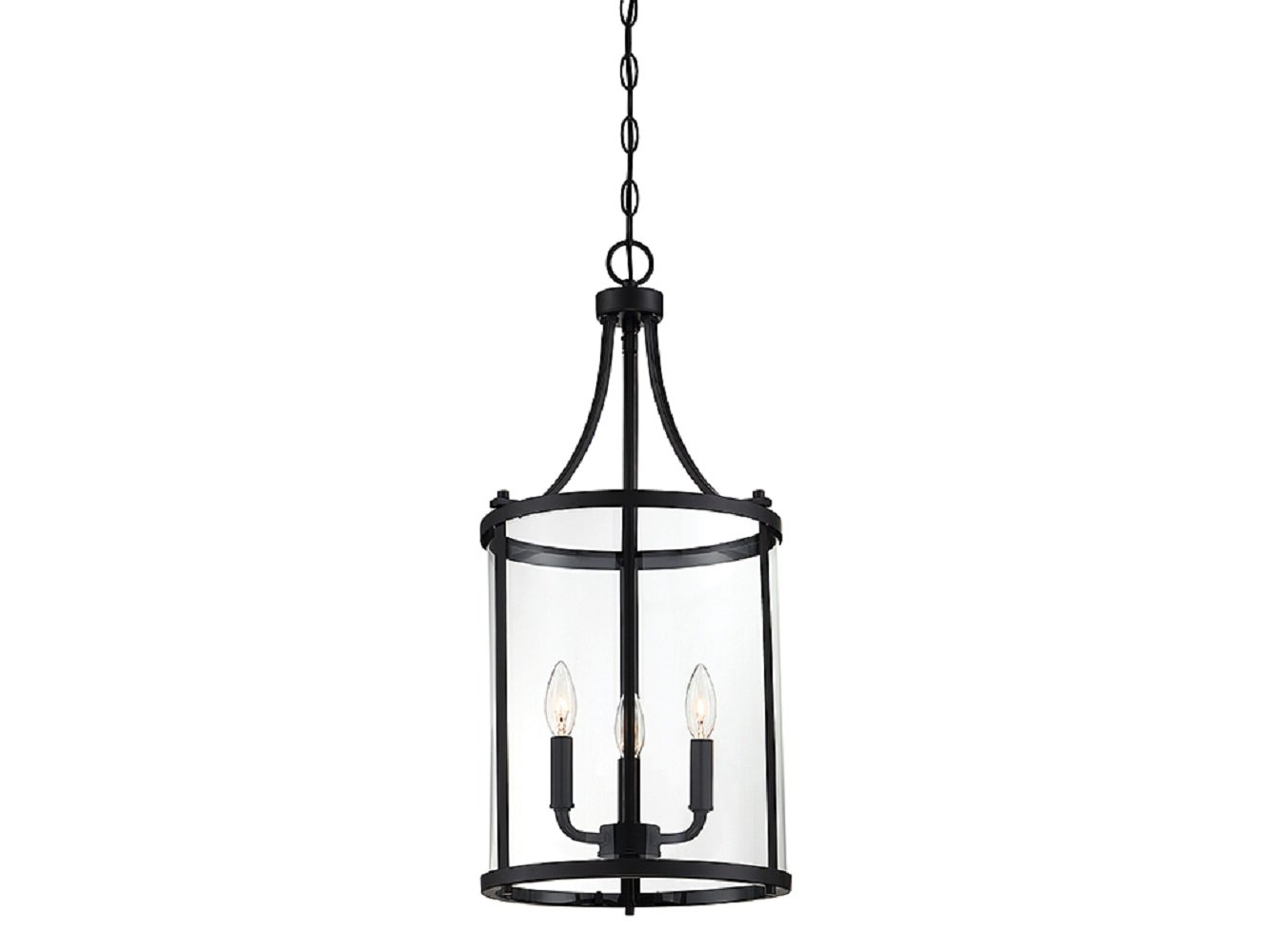 Famous Ezio 3 Light Lantern Cylinder Pendant Pertaining To Tessie 3 Light Lantern Cylinder Pendants (View 2 of 20)