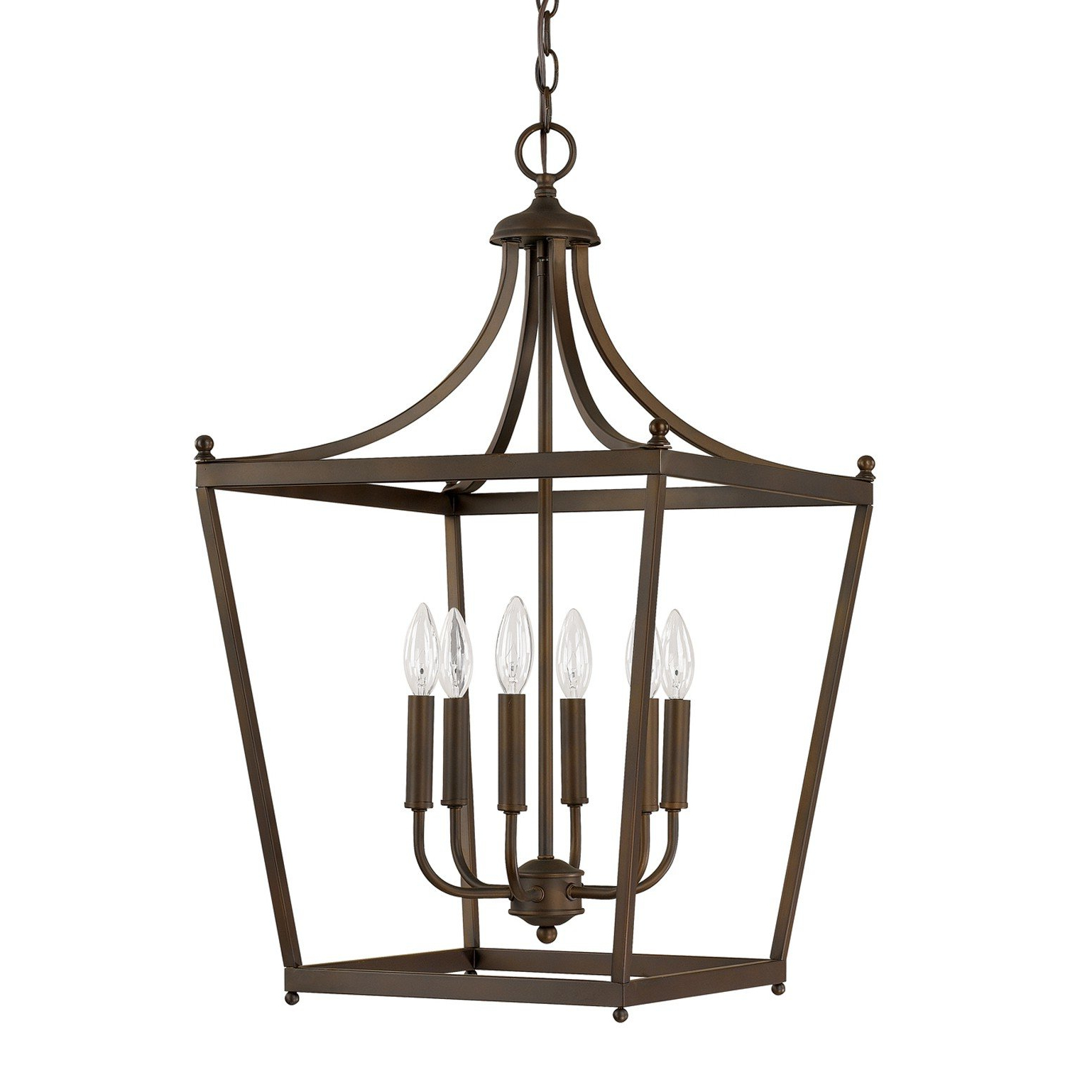 Famous Gabriella 3 Light Lantern Chandeliers Inside Gabriella 6 Light Pendant (View 4 of 20)