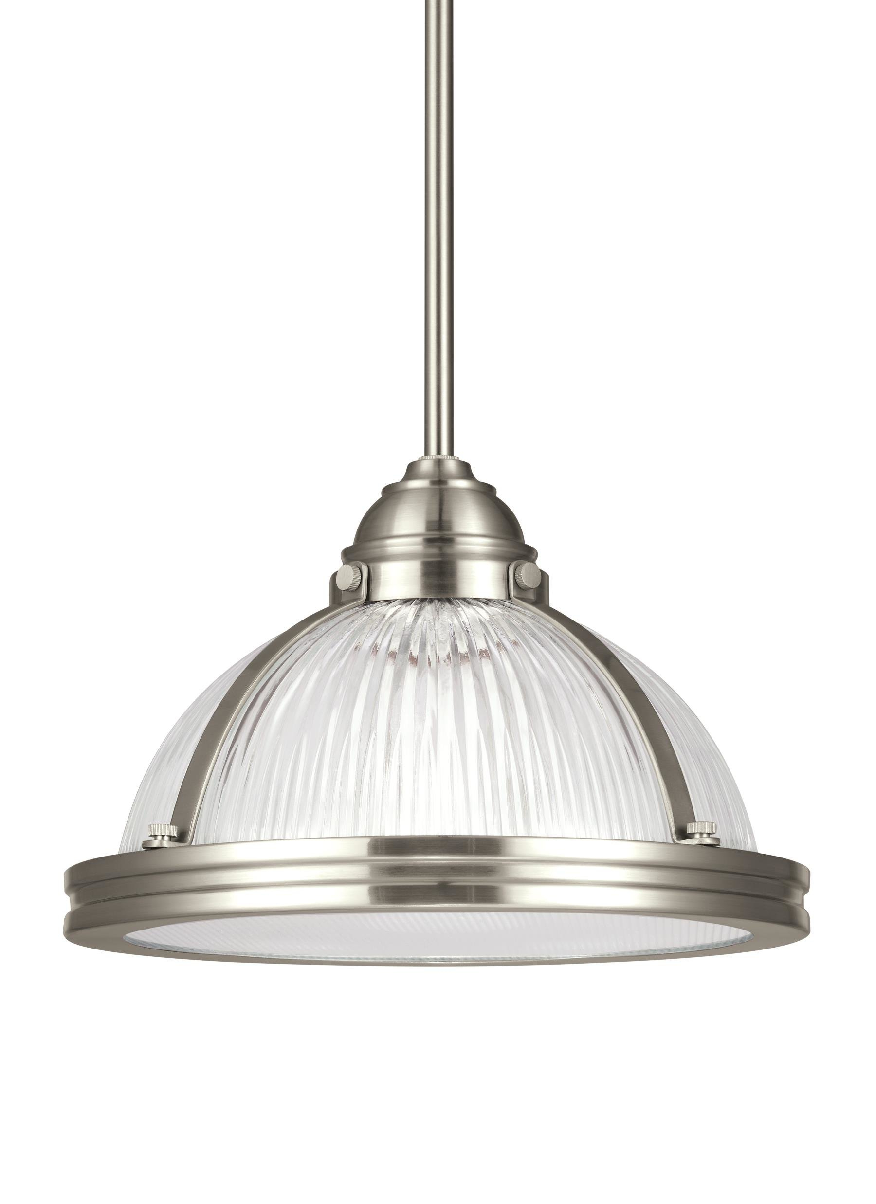 Famous Granville 3 Light Single Dome Pendants Within 1 Light Bowl Pendant (View 6 of 20)