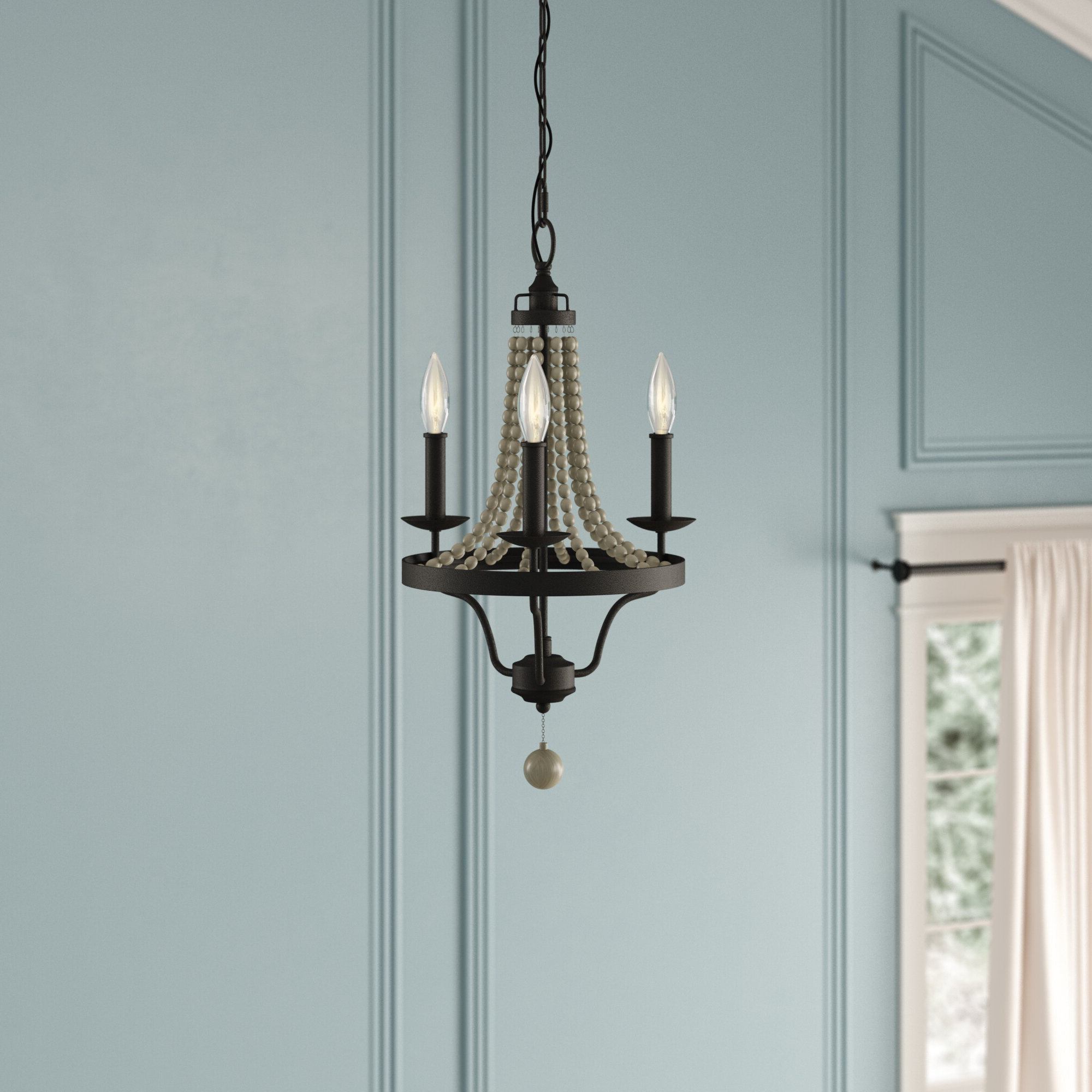 Famous Hatfield 3 Light Novelty Chandeliers Throughout Granger 3 Light Empire Chandelier (View 6 of 20)