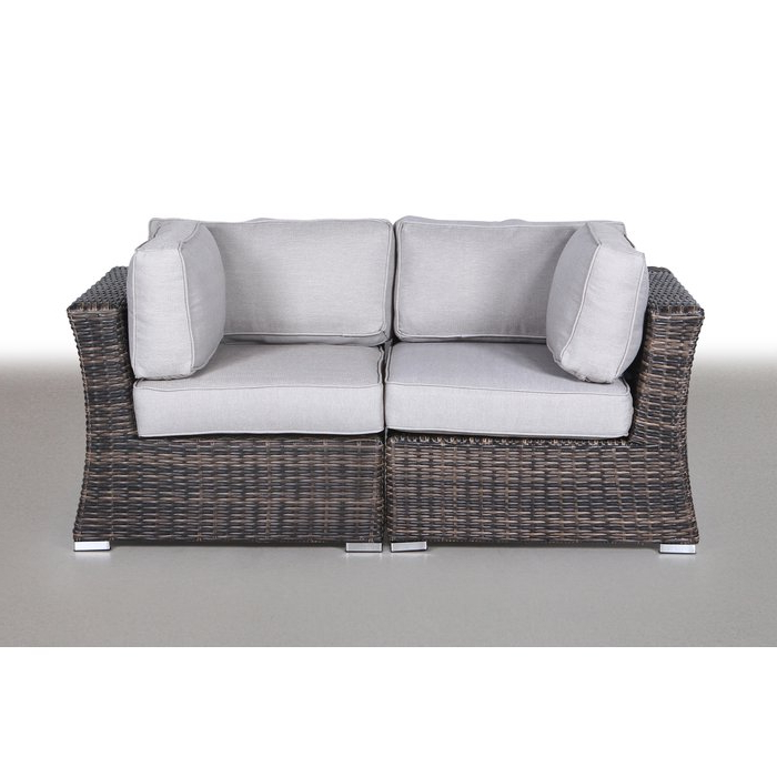 Famous Huddleson Contemporary Loveseat With Cushion Inside Huddleson Loveseats With Cushion (Gallery 7 of 20)