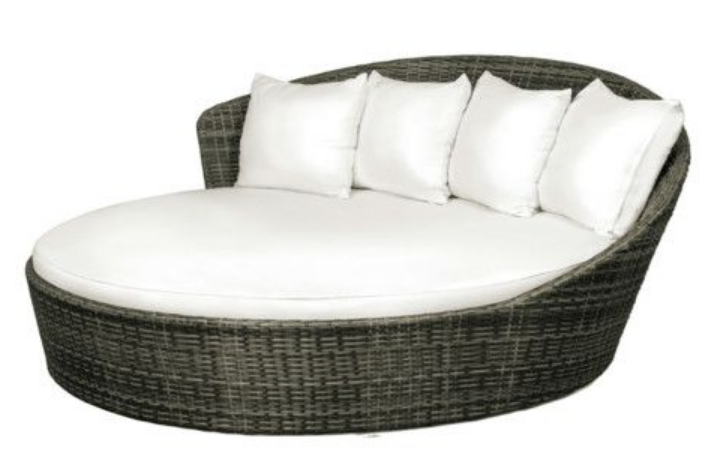 Famous Lavina Outdoor Patio Daybeds With Cushions Regarding 7 Beautiful Cozy Daybeds For Outdoor Place – Build The Home (View 4 of 20)