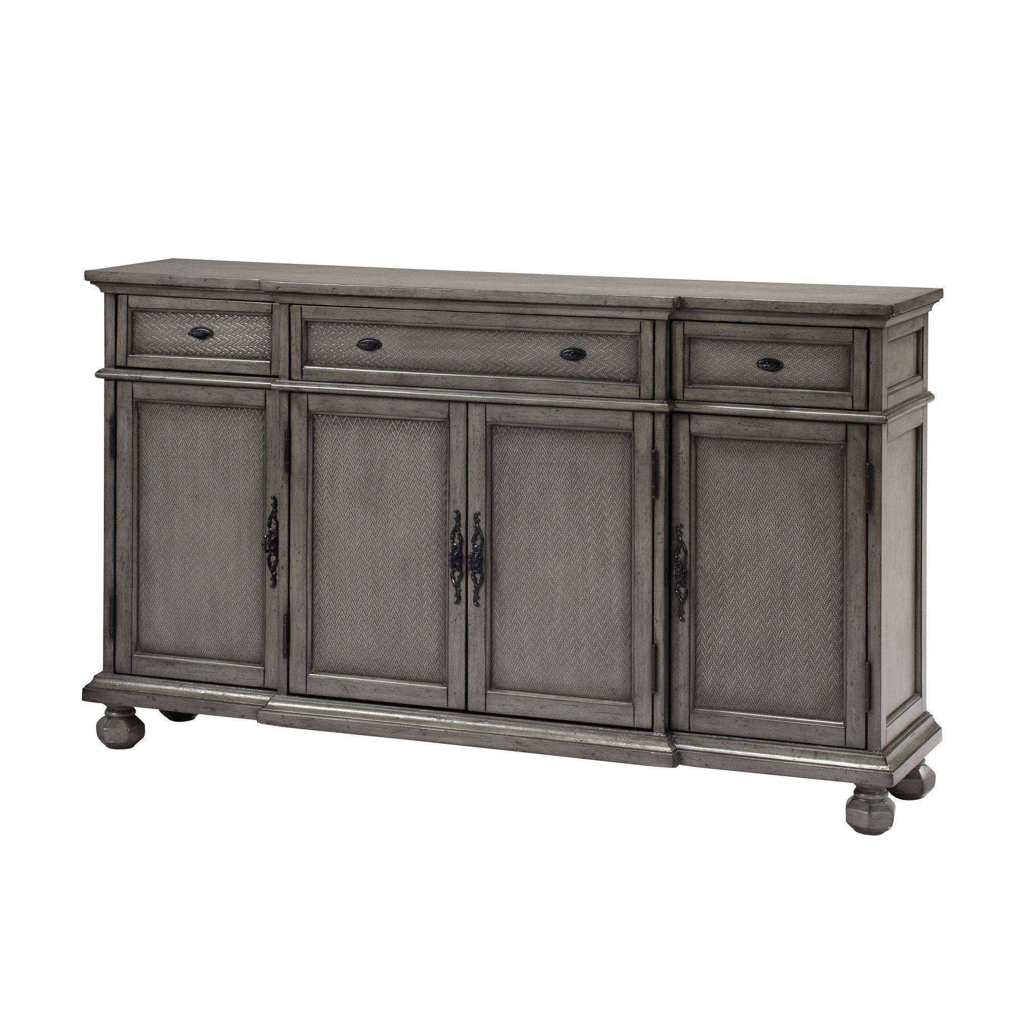 Famous Rosecliff Heights Drummond 3 Drawer Sideboard (View 12 of 20)