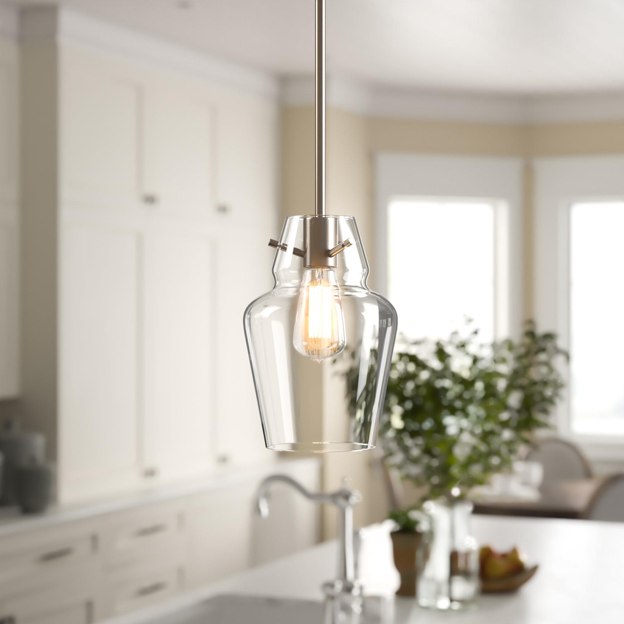 Famous Roslindale 1 Light Single Bell Pendants With Roslindale 1 Light Single Bell Pendant (Gallery 3 of 20)