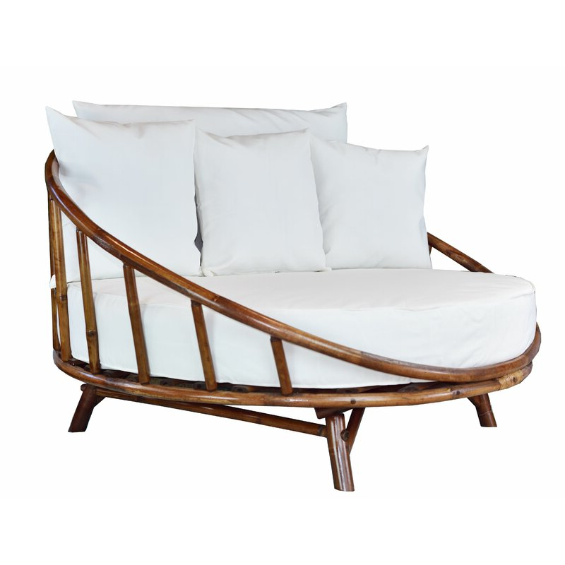Famous Round Patio Daybed – Caldwellcountytxoem Within Olu Bamboo Large Round Patio Daybeds With Cushions (View 5 of 20)