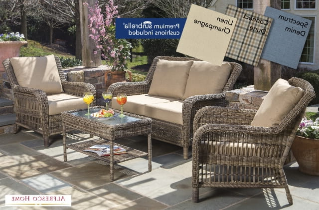 Famous Vineyard Deep Seating Sofas Inside Vineyard Deep Seating – Lauras Home And Patio Furniture East (View 4 of 20)