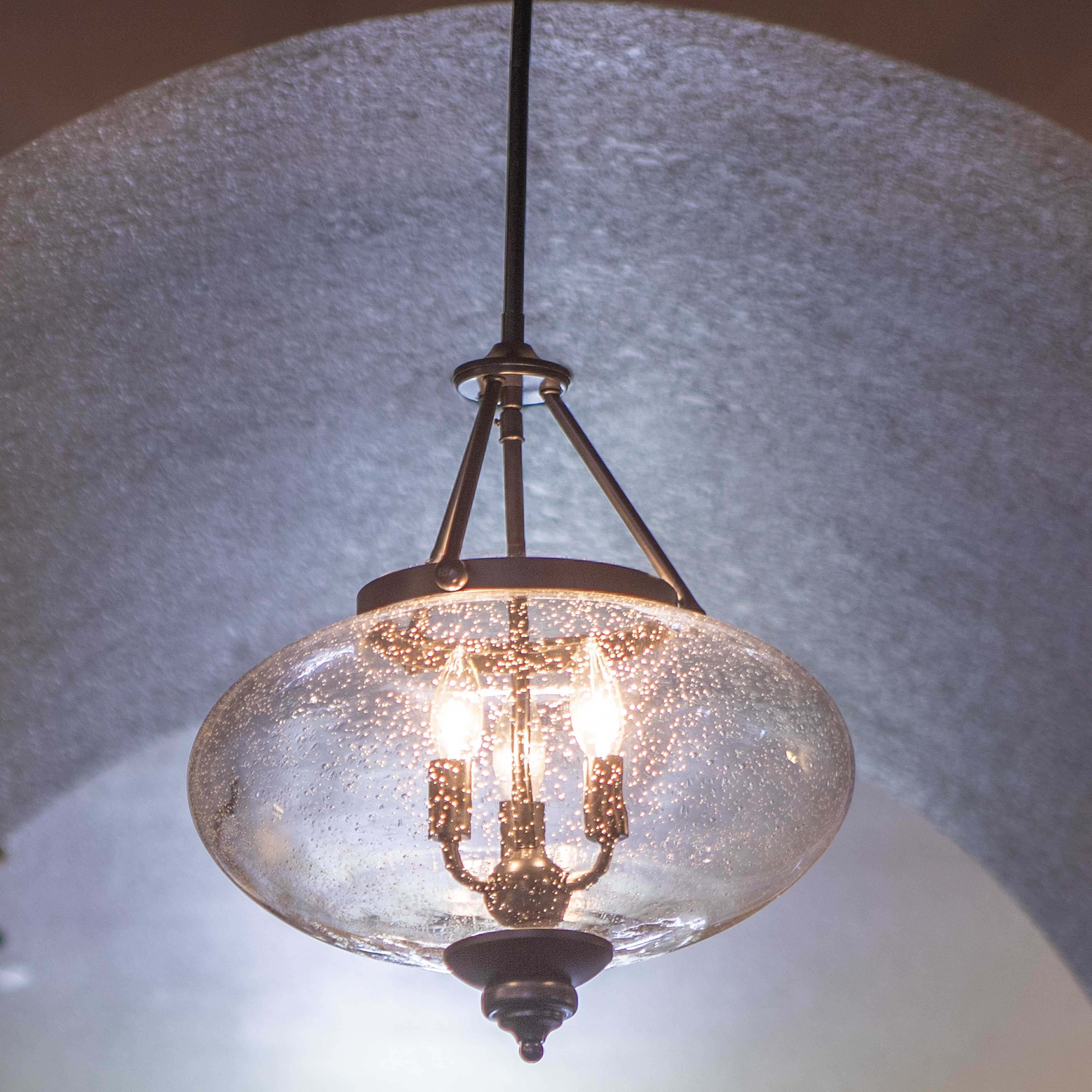 Farmhouse & Rustic Charlton Home Chandeliers (View 15 of 20)