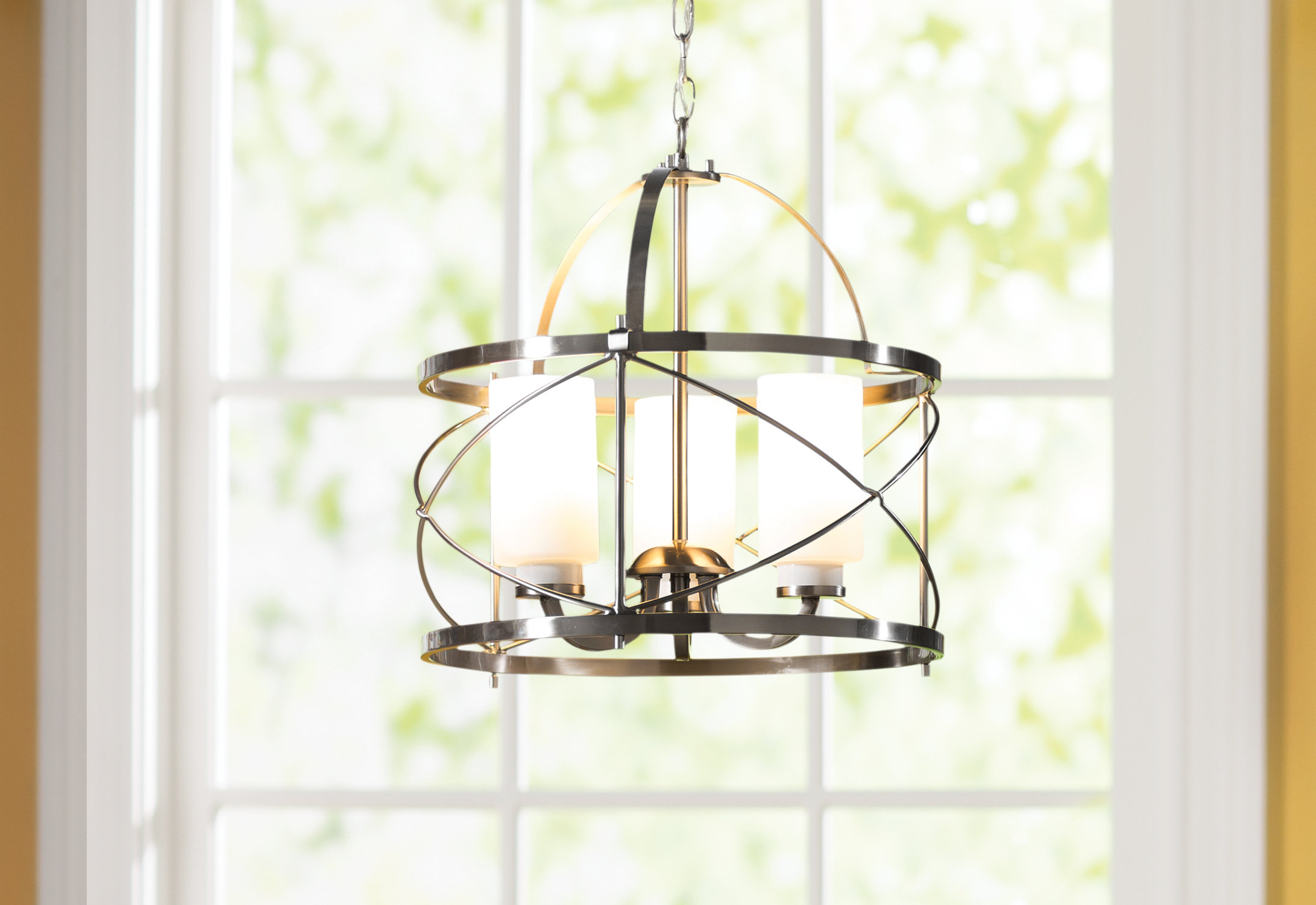 Farrier 3 Light Lantern Drum Pendants With Regard To Favorite Darby Home Co Farrier 3 Light Lantern Pendant (View 9 of 20)