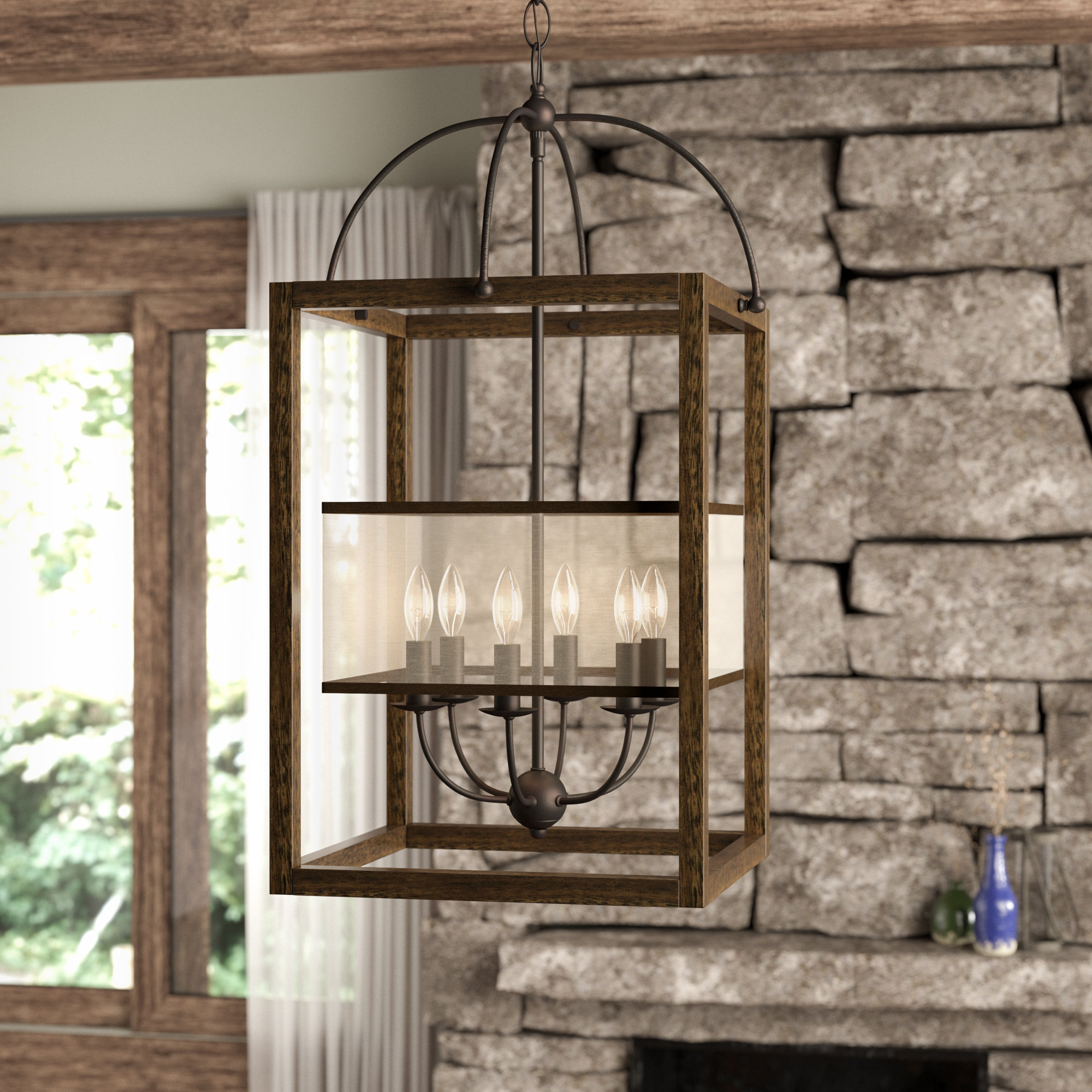 Fashionable Aadhya 6 Light Square/rectangle Chandelier For Aadhya 5 Light Drum Chandeliers (View 13 of 20)