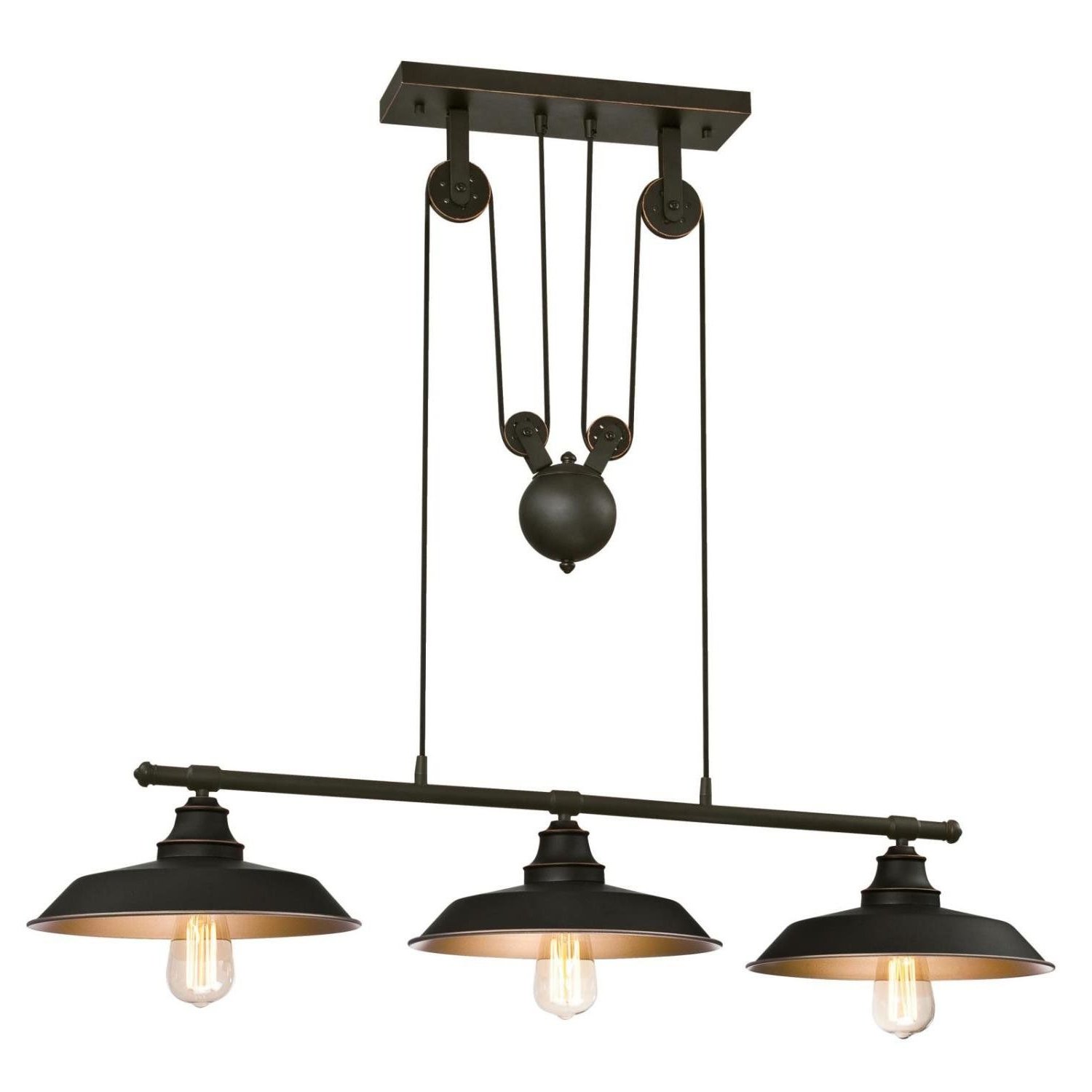 Fashionable Alayna 3 Light Kitchen Island Pendant (Gallery 6 of 20)